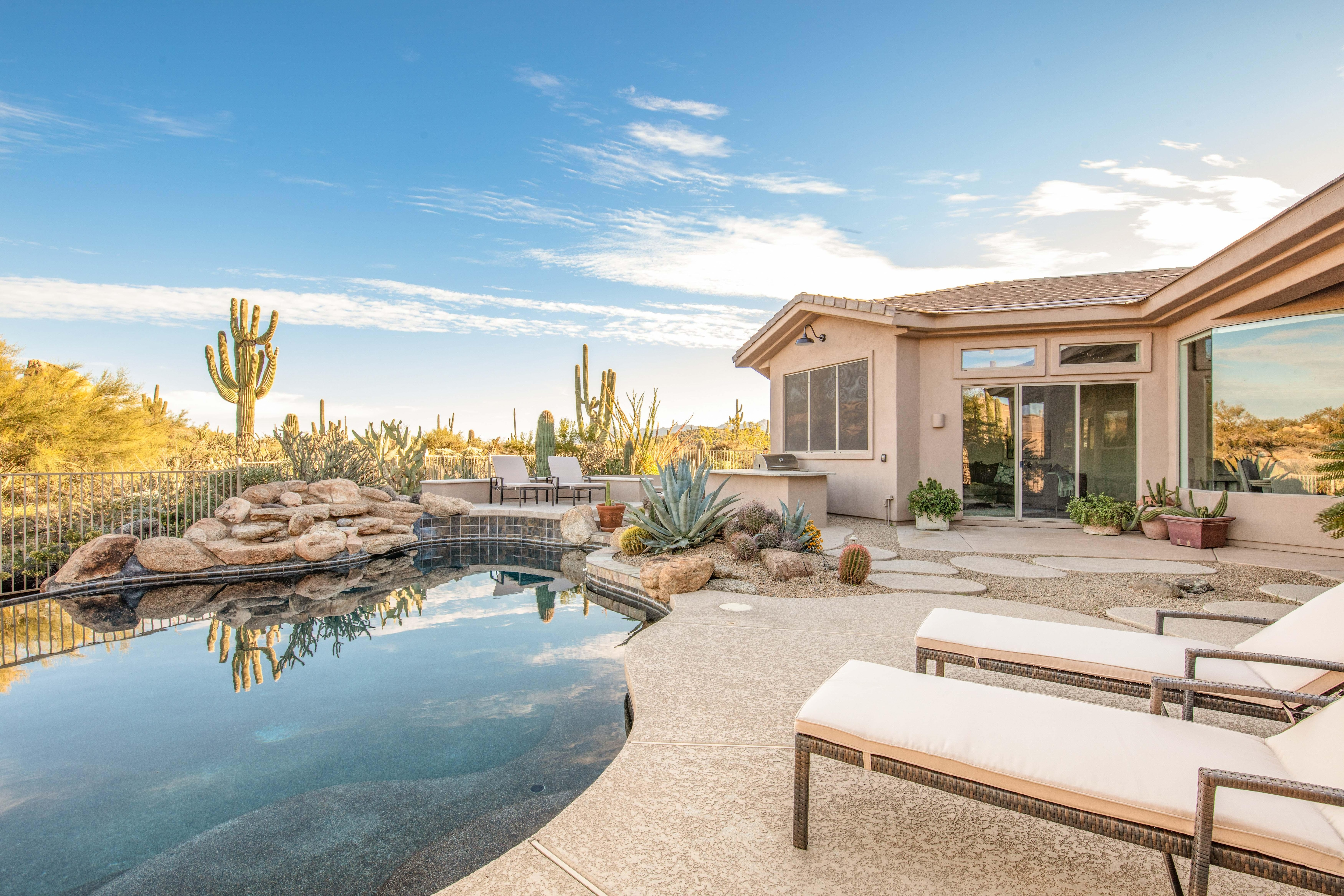 Welcome to Scottsdale! Your luxury desert getaway is professionally managed by TurnKey Vacation Rentals.