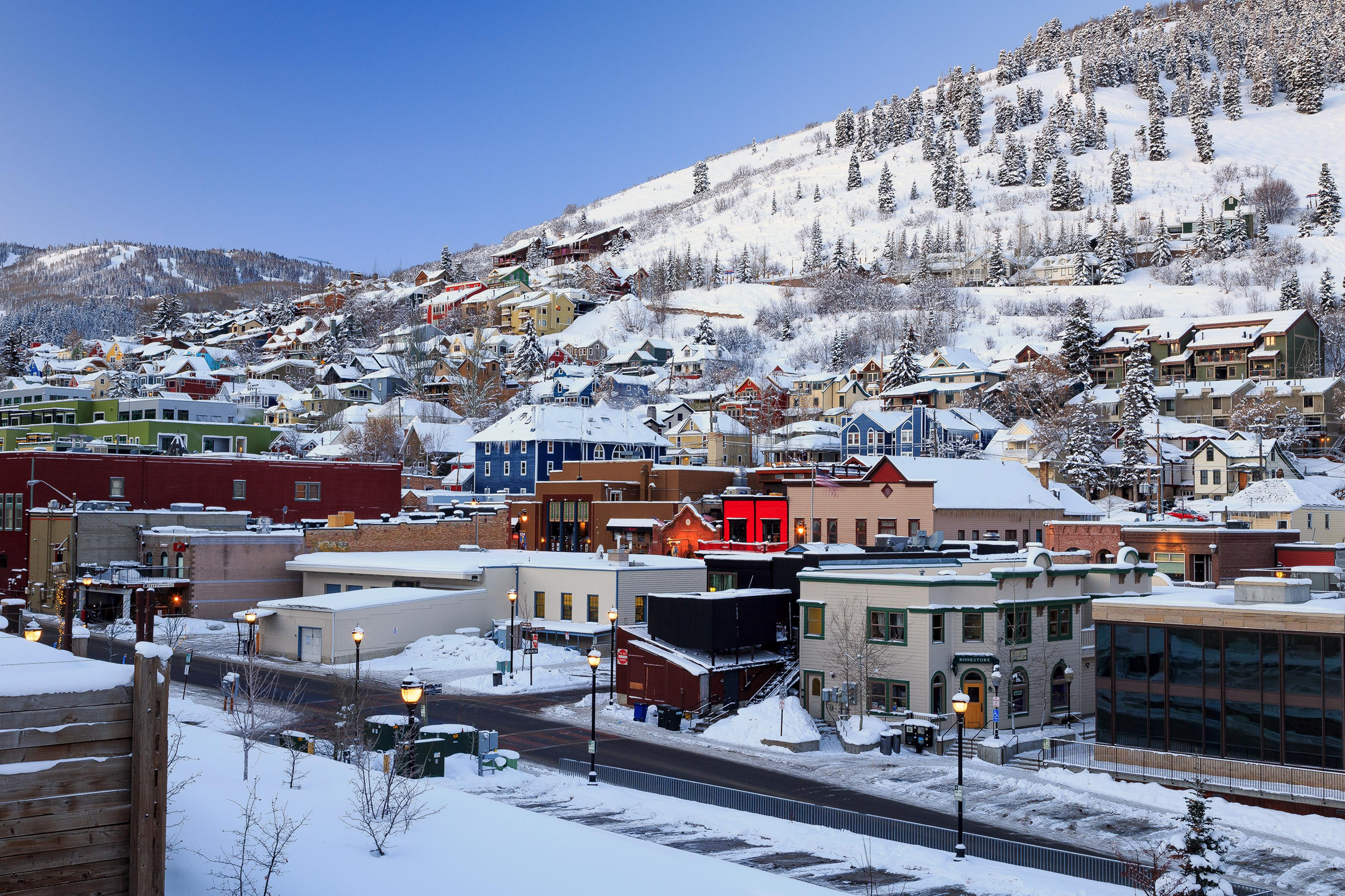 Walk just over 10 minutes to downtown Park City for shopping and restaurants.