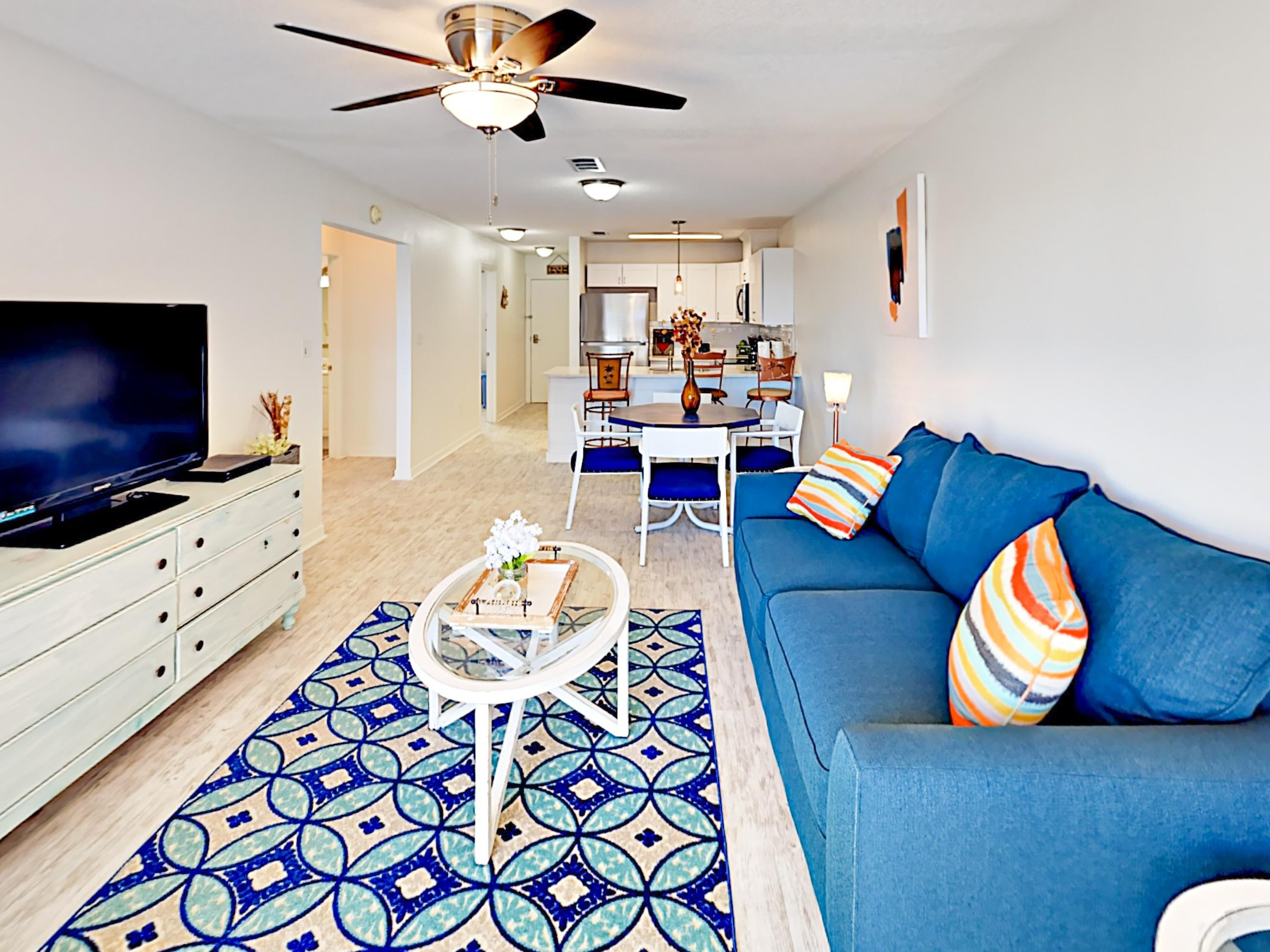 Welcome to Orange Beach! Your beachside condo is professionally managed by TurnKey Vacation Rentals.