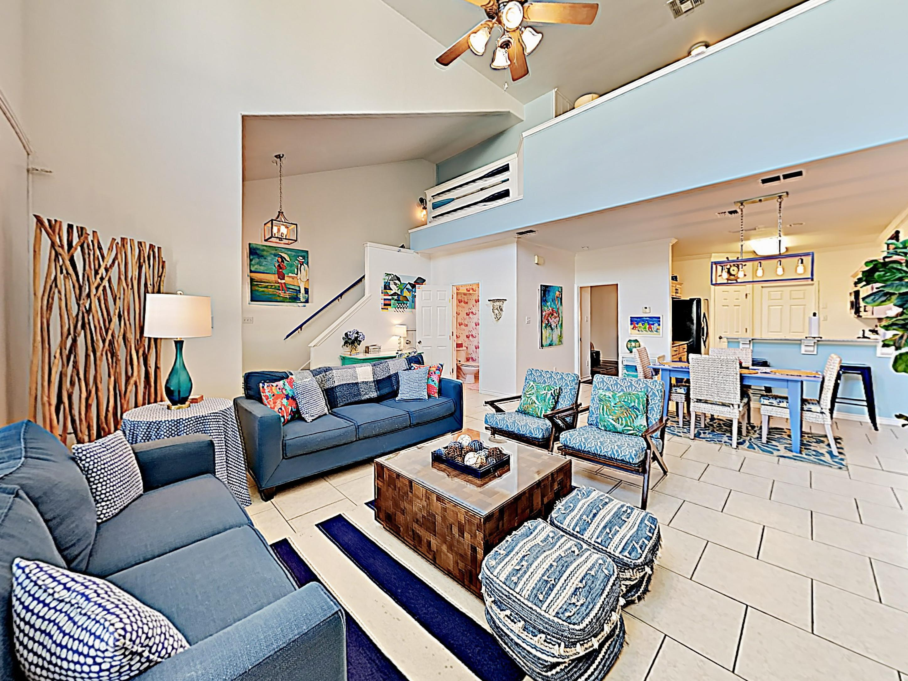 Property Image 1 - Beach-Inspired Townhome with Pool Access; Near Beach