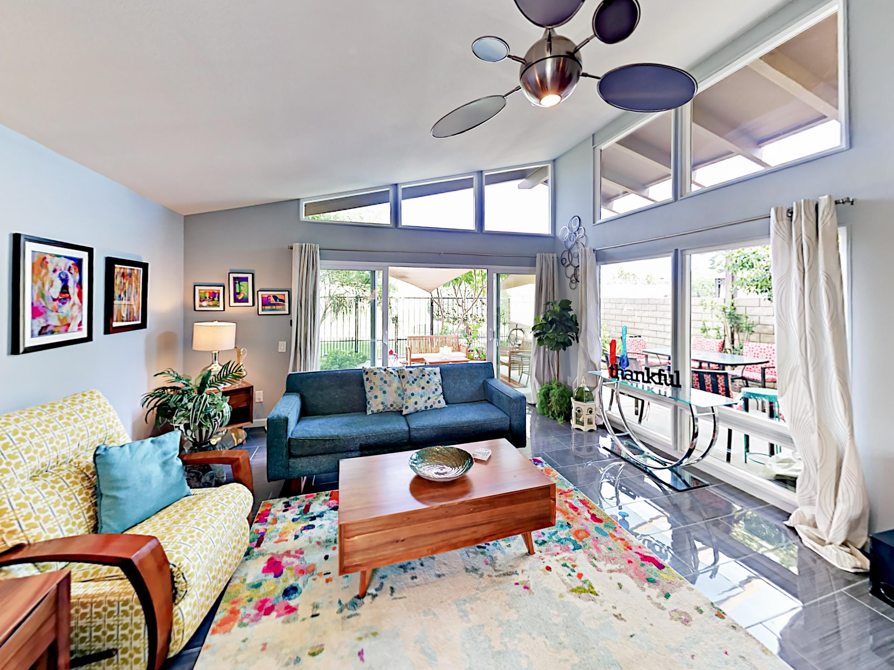 Property Image 1 - Colorful and Artistic Condo, Walk to Empire Polo Club