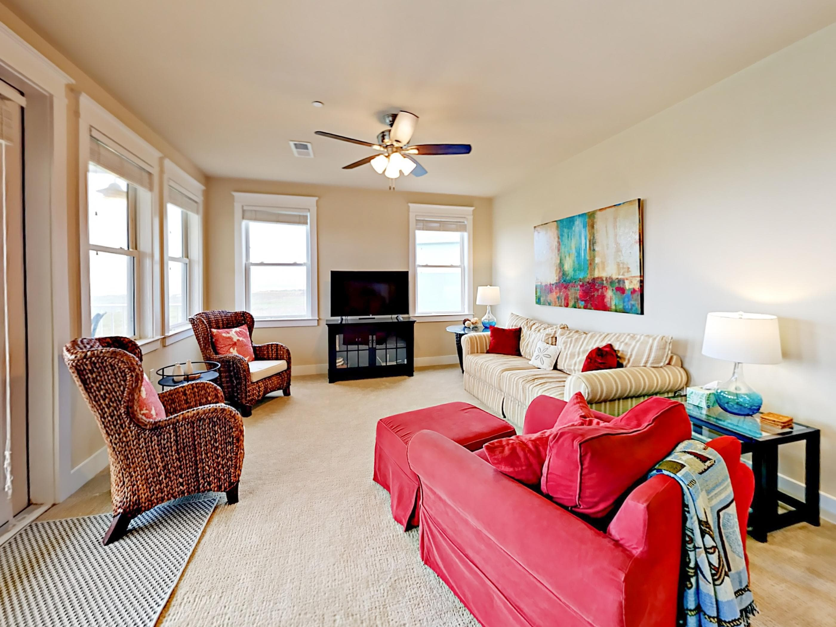 Welcome to Galveston! Your Gulf-front condo is professionally managed by TurnKey Vacation Rentals.
