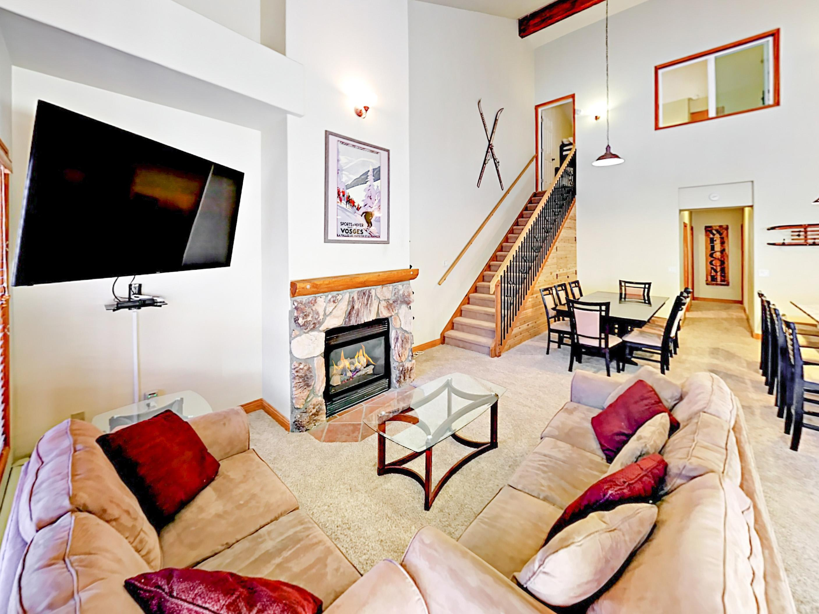 Welcome to Keystone! This spacious condo is professionally managed by TurnKey Vacation Rentals.