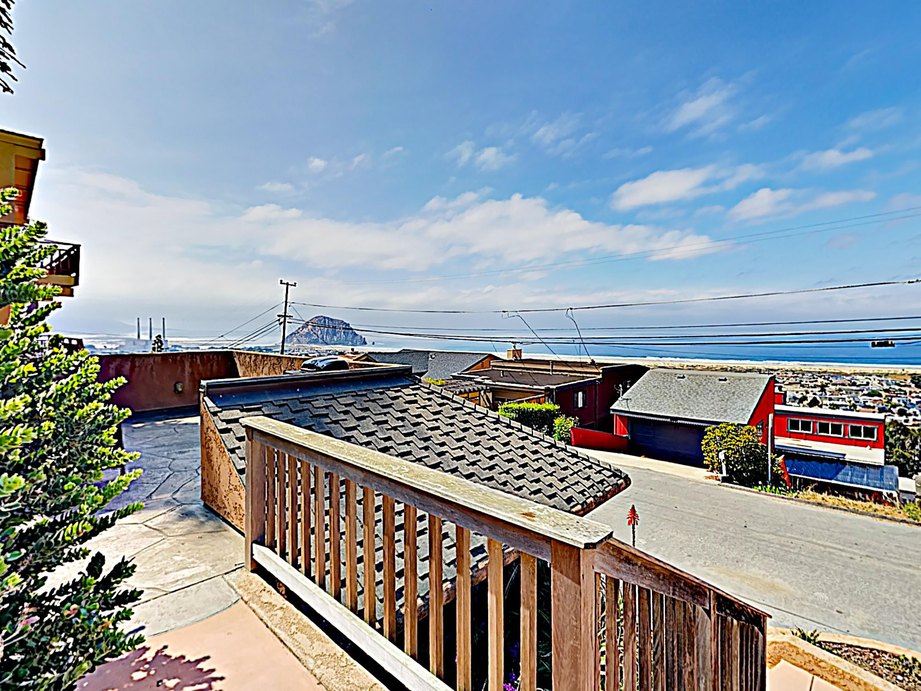 This magnificent home is perched on the highest point in Morro Bay.