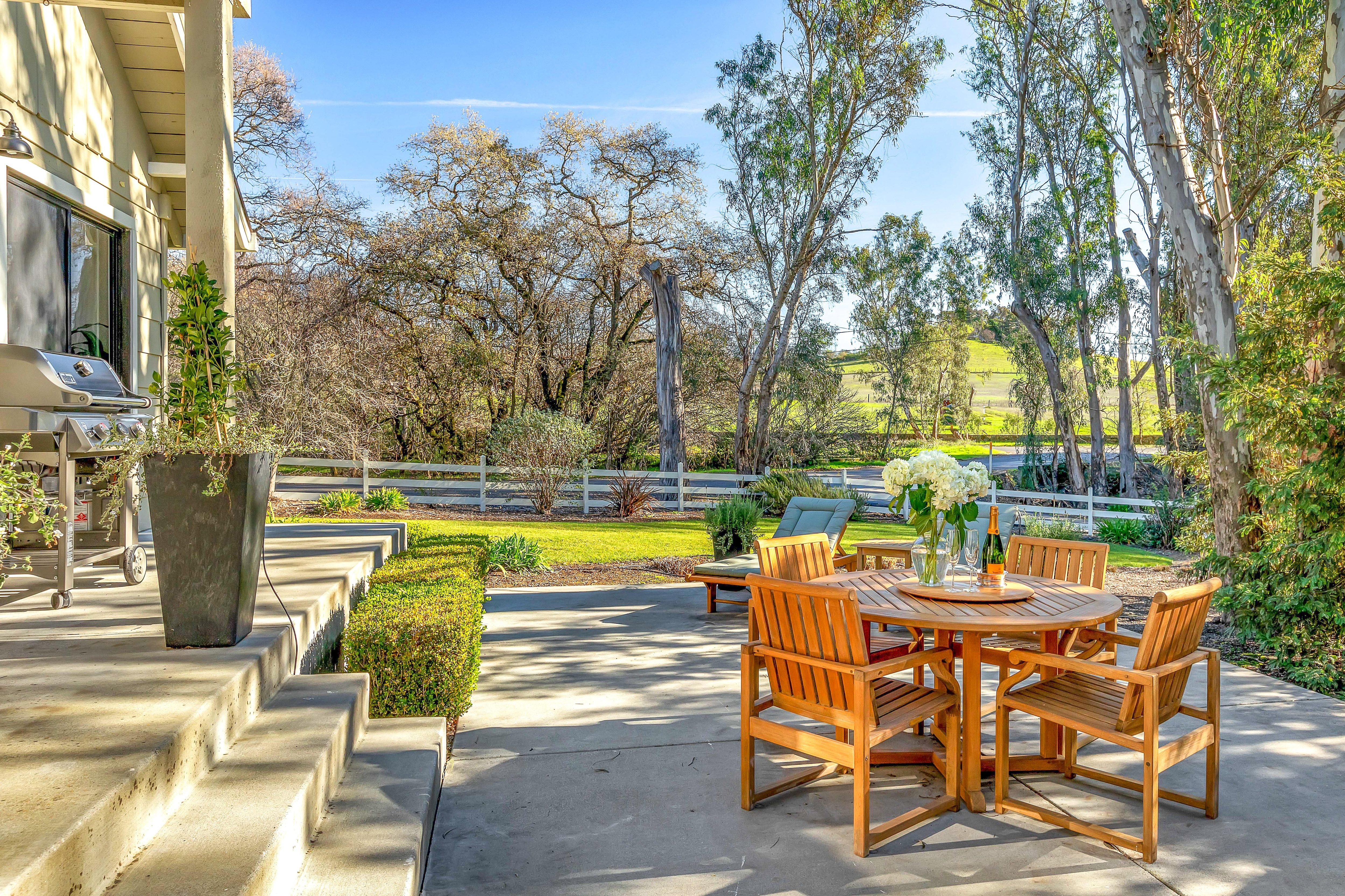 Welcome to Sonoma! This wine country haven is professionally managed by TurnKey Vacation Rentals.