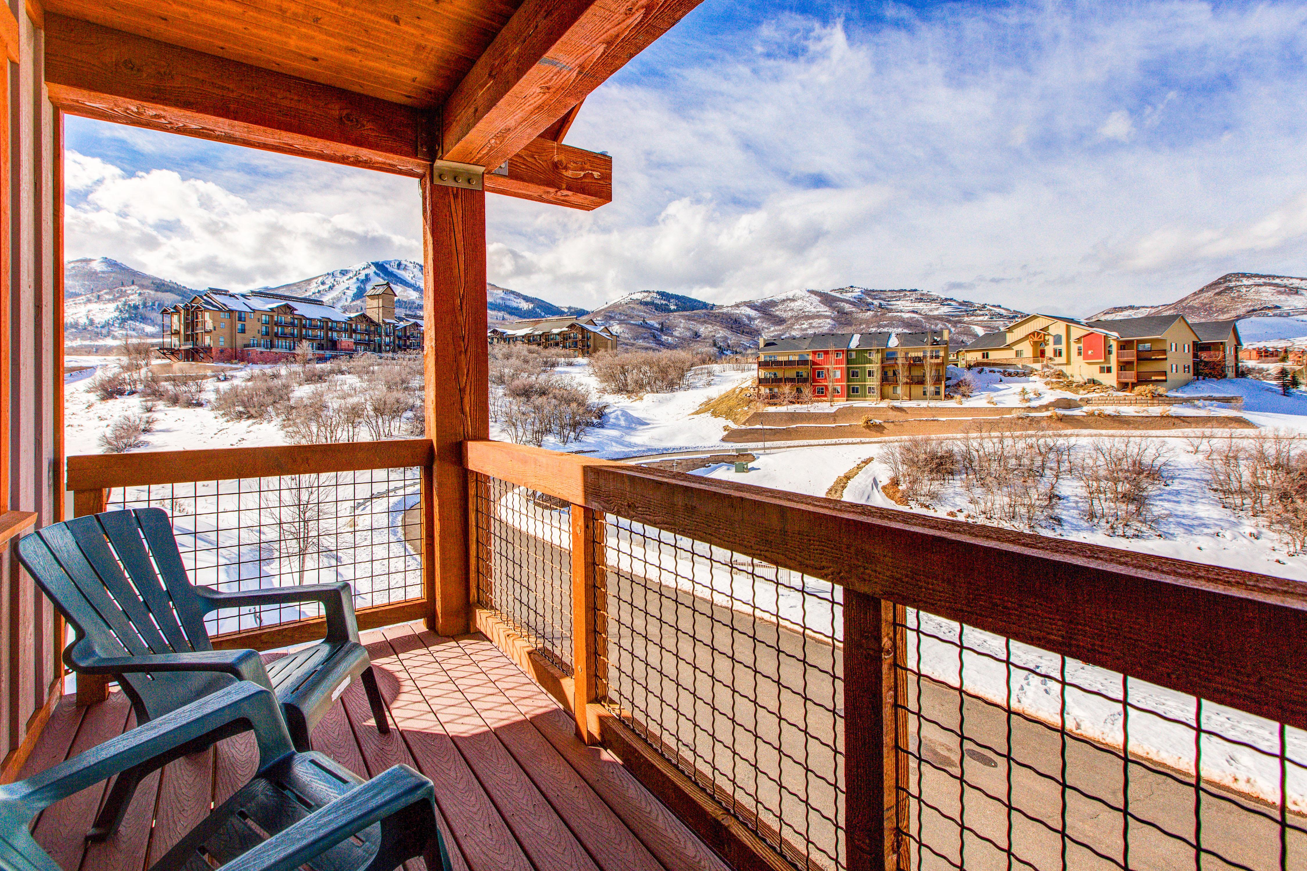 Property Image 1 - Impressive Rustic Mountain Condo with Stunning Slope Views