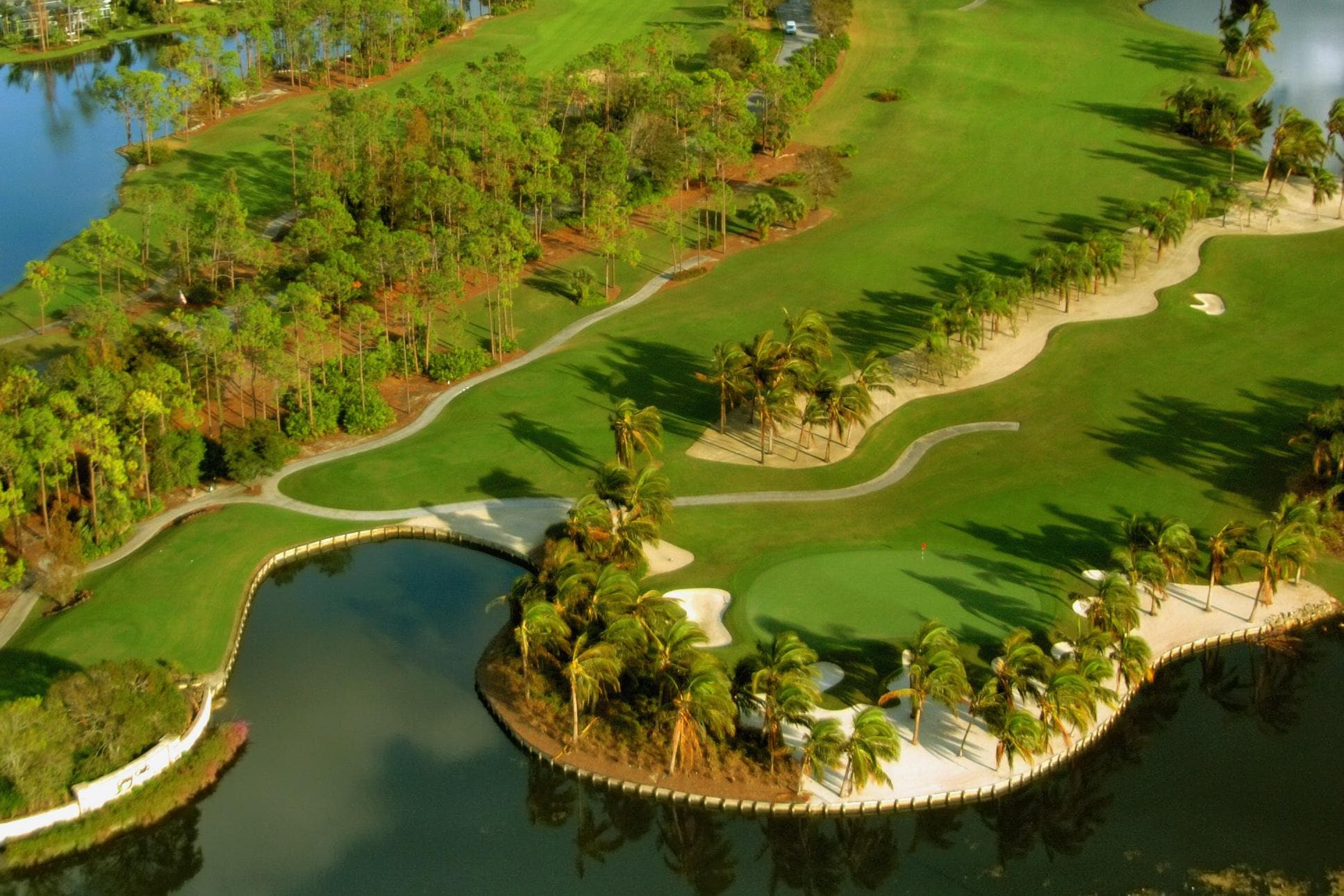 Play a round of golf at one of the many local courses.