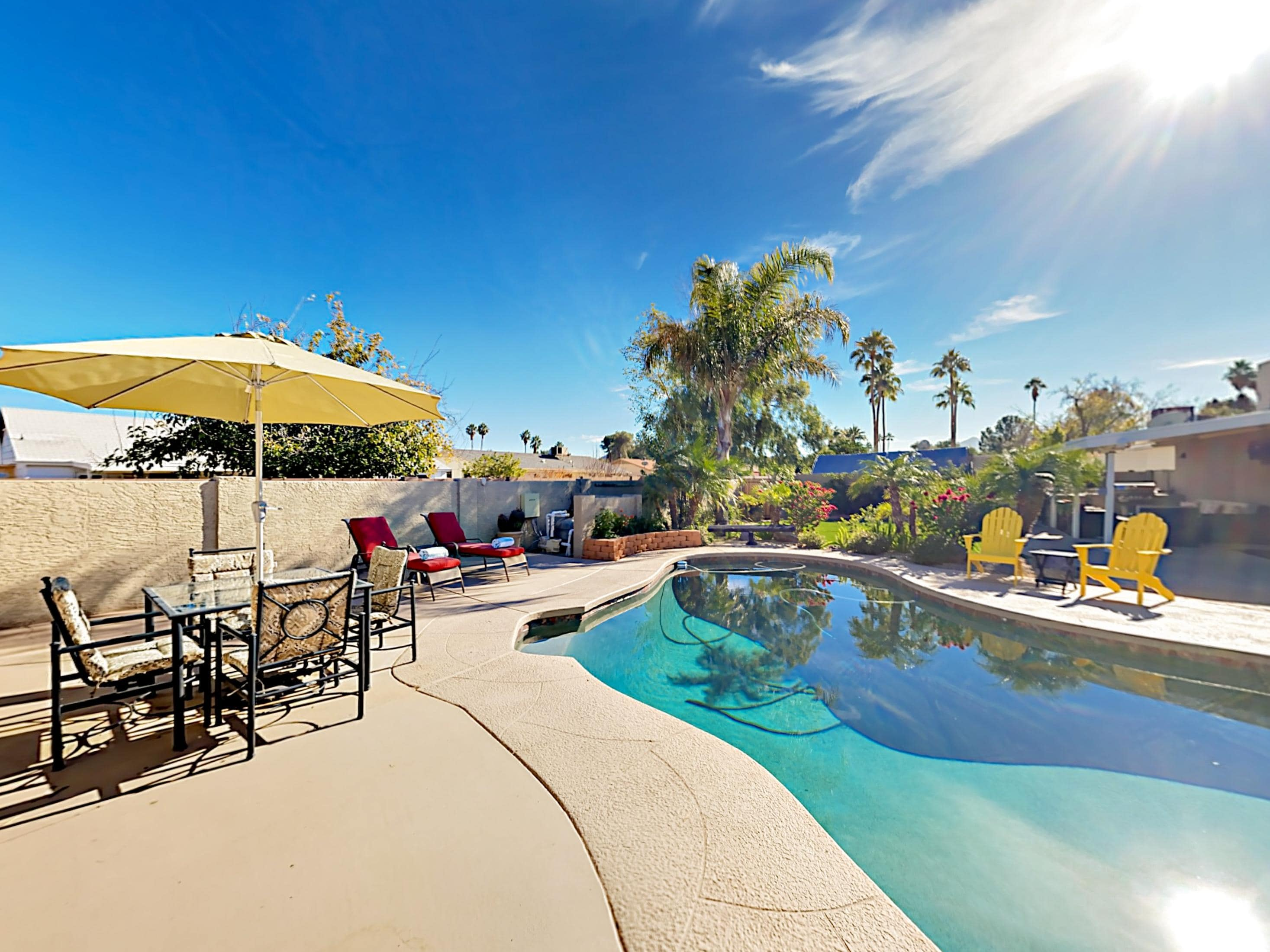 Welcome to Phoenix! Your rental is professionally managed by TurnKey Vacation Rentals.