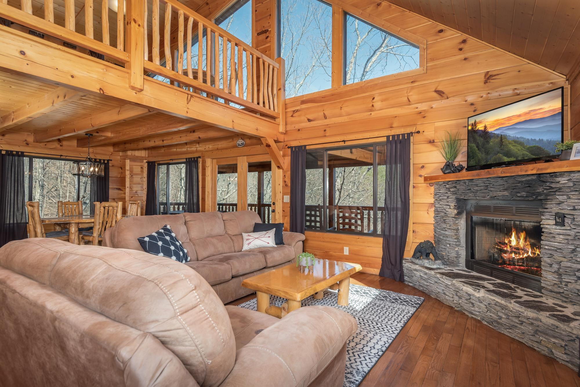 Property Image 1 - Blissful Getaway with Hot Tub and Smoky Mountain Views