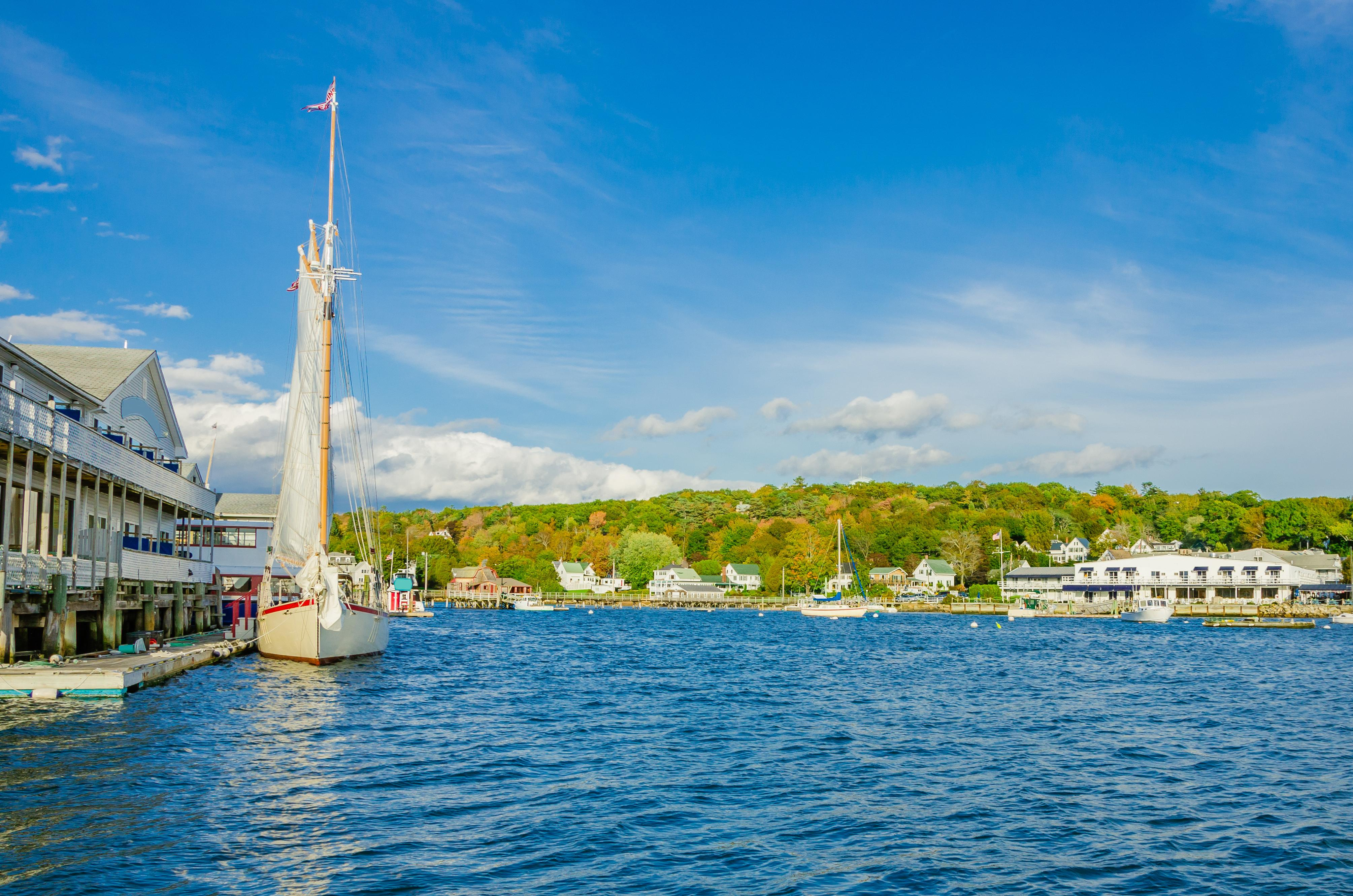 Enjoy strolling along the seaside village of downtown Boothbay Harbor, 2 miles away.