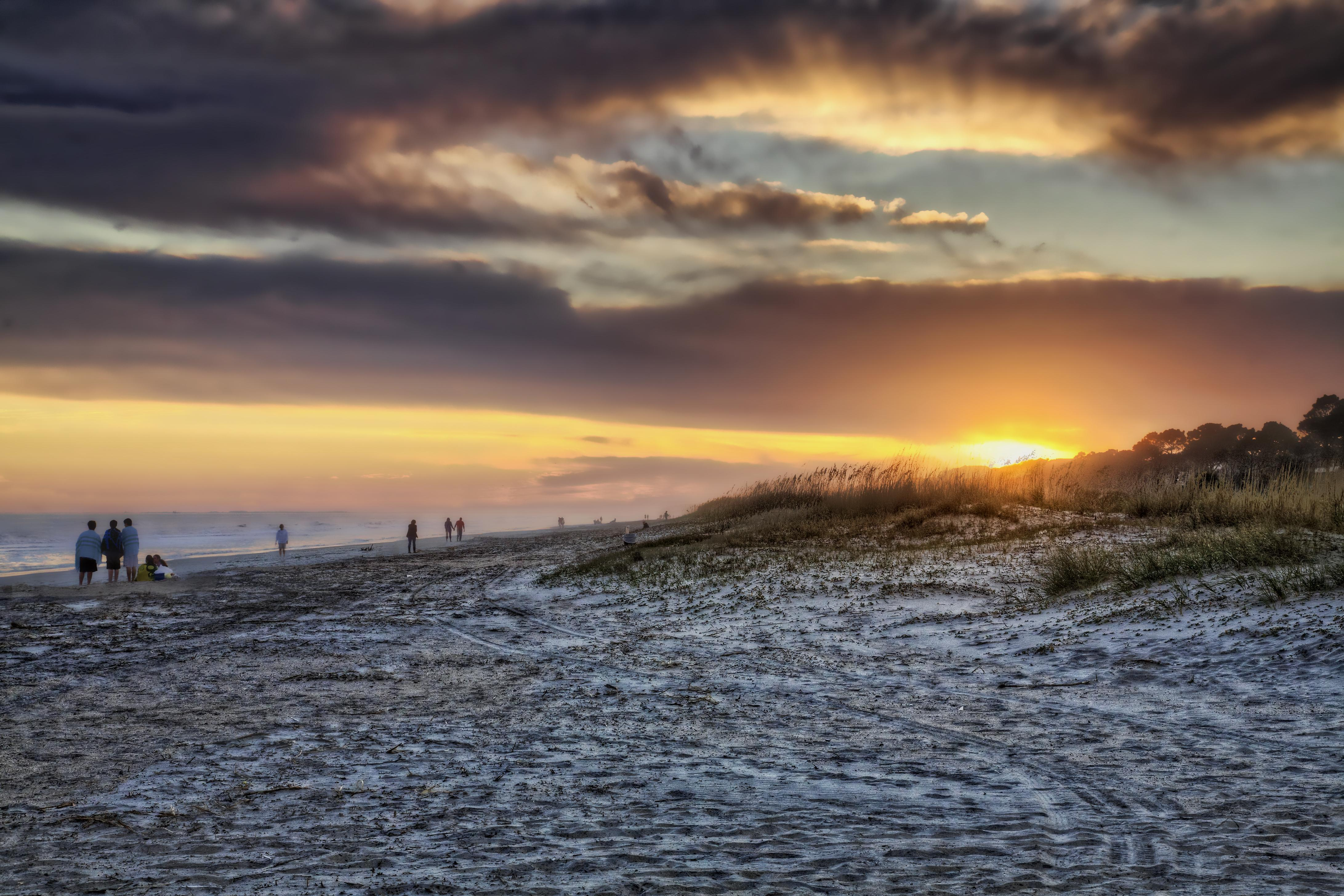 Gorgeous sunsets await! Sea Pines Beach is less than 2 miles away.