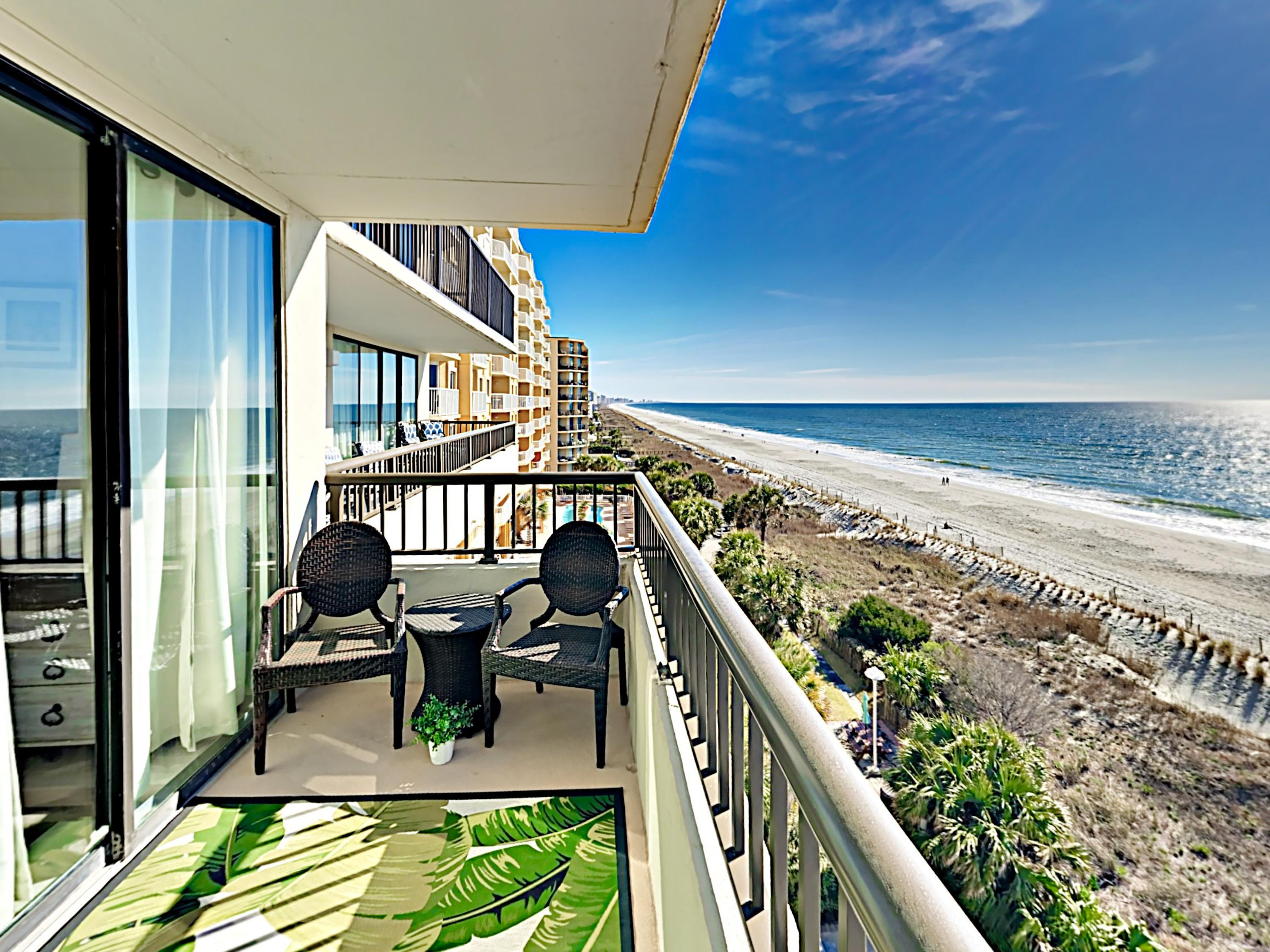 Welcome to Myrtle Beach! Your rental is professionally managed by TurnKey Vacation Rentals.