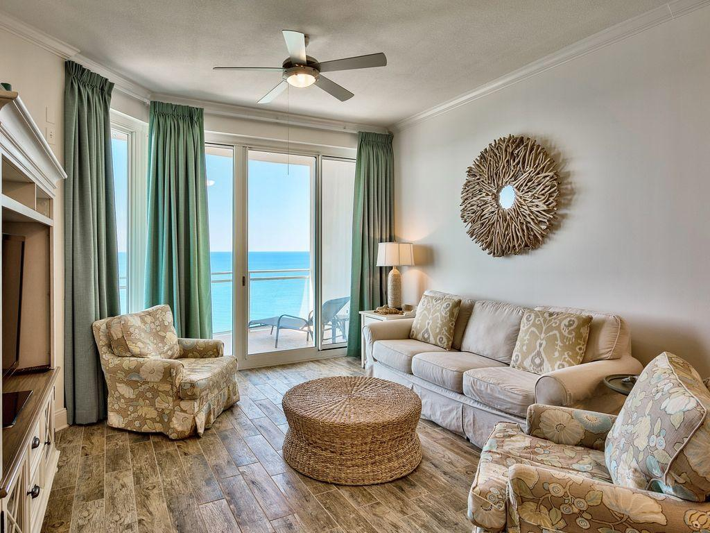 Impeccable Penthouse with Gulf Views and Beach Access