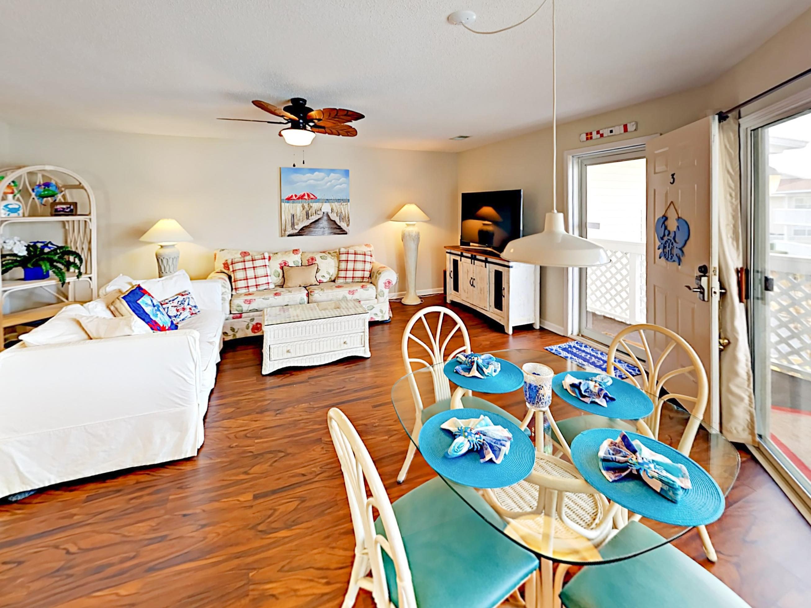 This stunning condo is professionally managed by TurnKey Vacation Rentals.