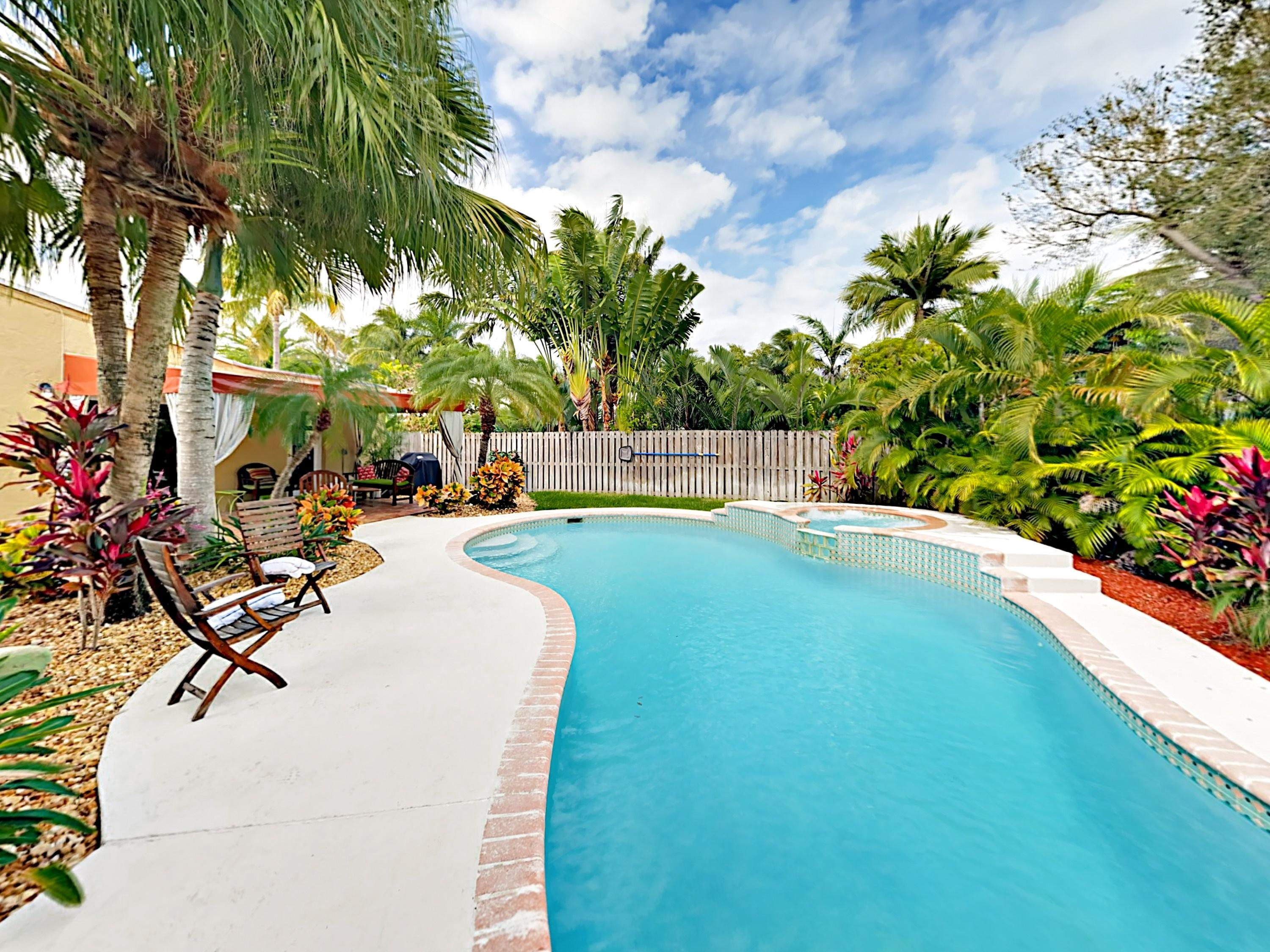 Welcome to Fort Lauderdale! Your tropical oasis is professionally managed by TurnKey Vacation Rentals.