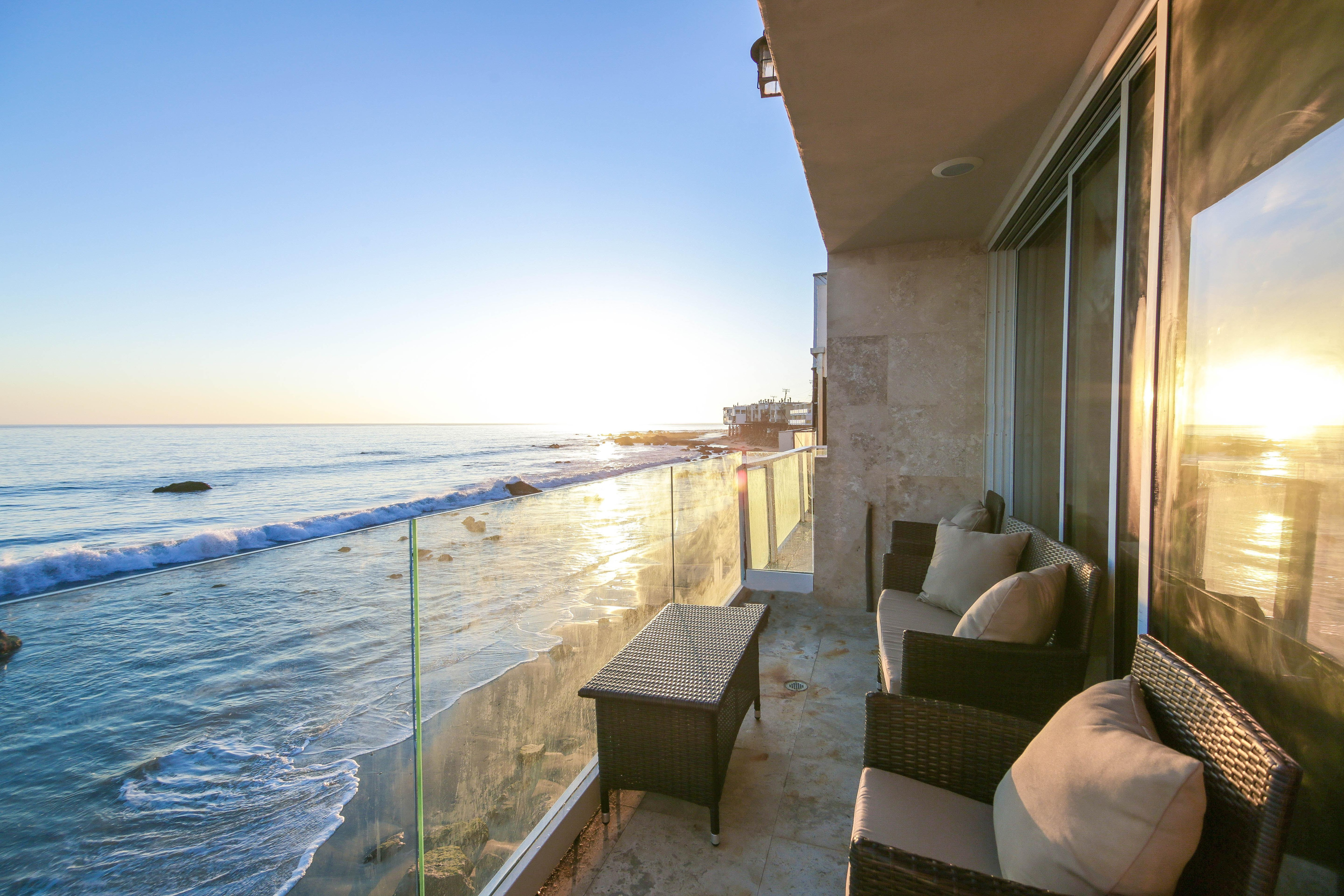 Welcome to Malibu! This beachfront beauty is professionally managed by TurnKey Vacation Rentals.