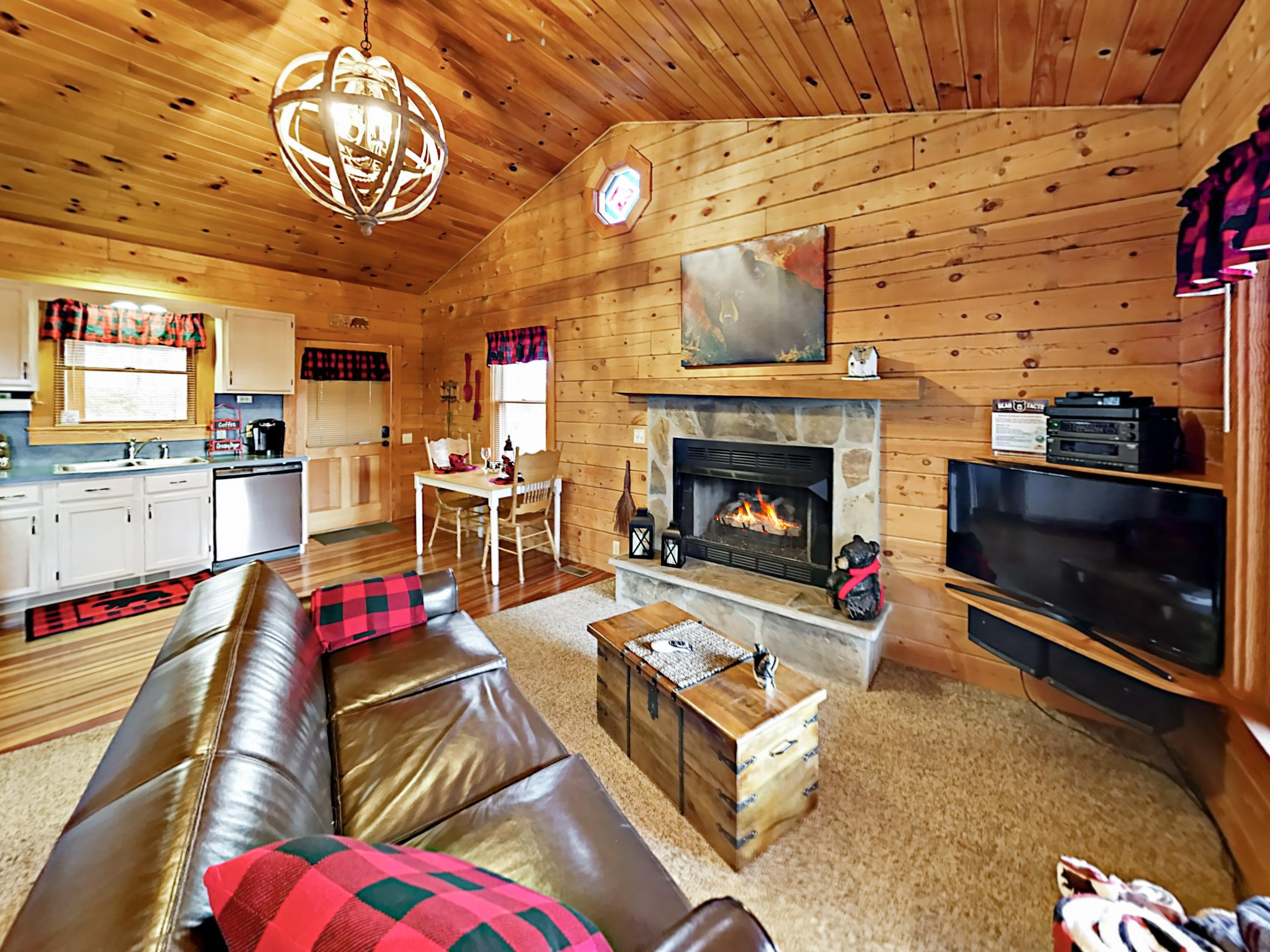 Welcome to Dove's Nest! This charming cabin is professionally managed by TurnKey Vacation Rentals.