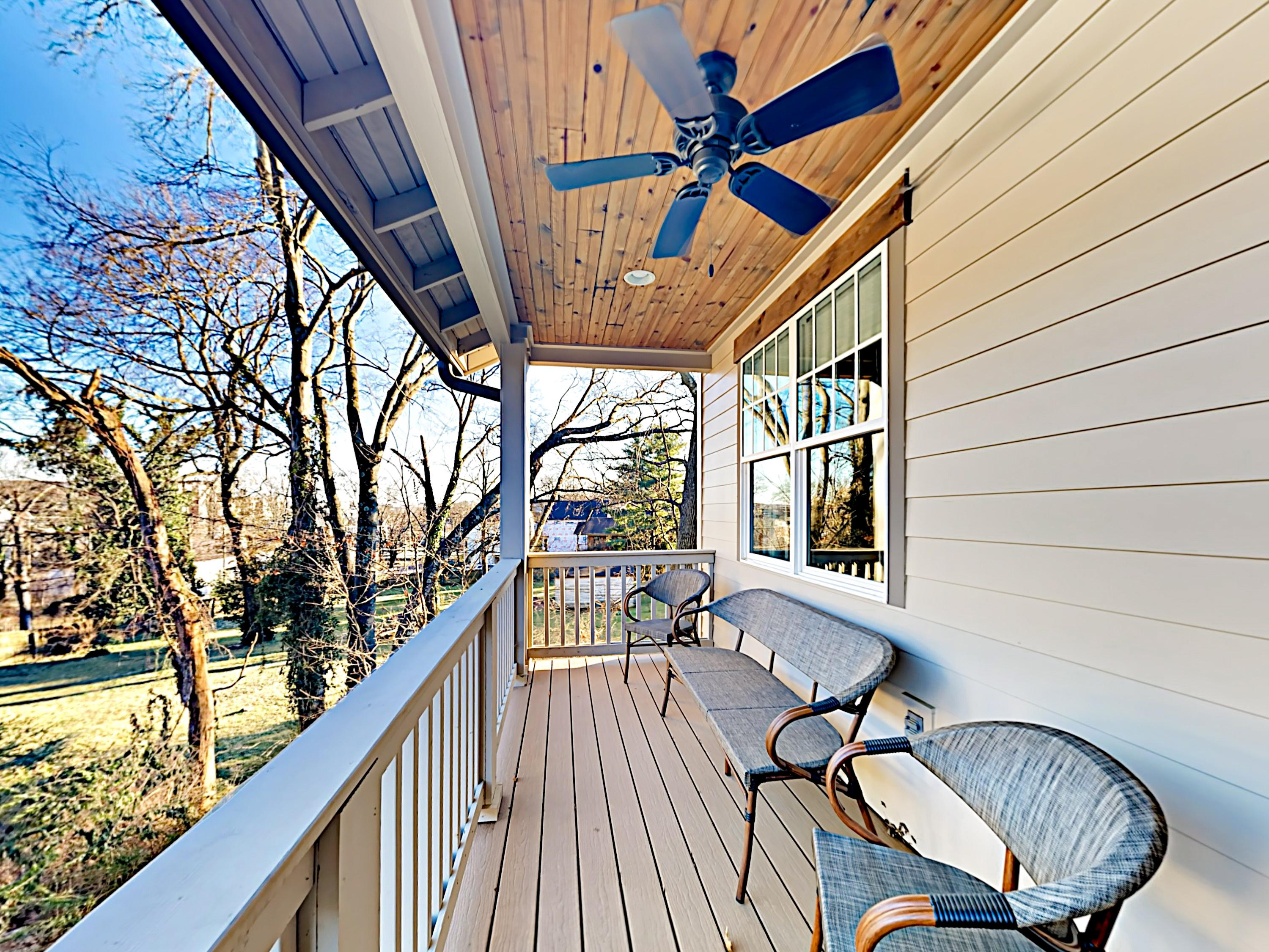 Stylish Nashville Home with Deck and Porch