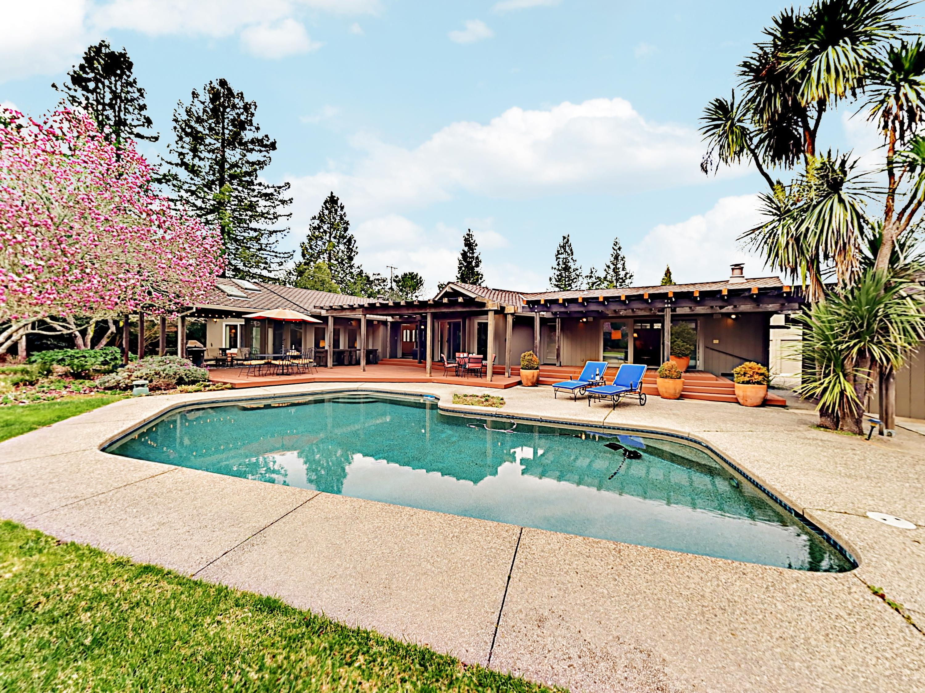 Lovely Wine Country Home with Private Pool & Hot Tub