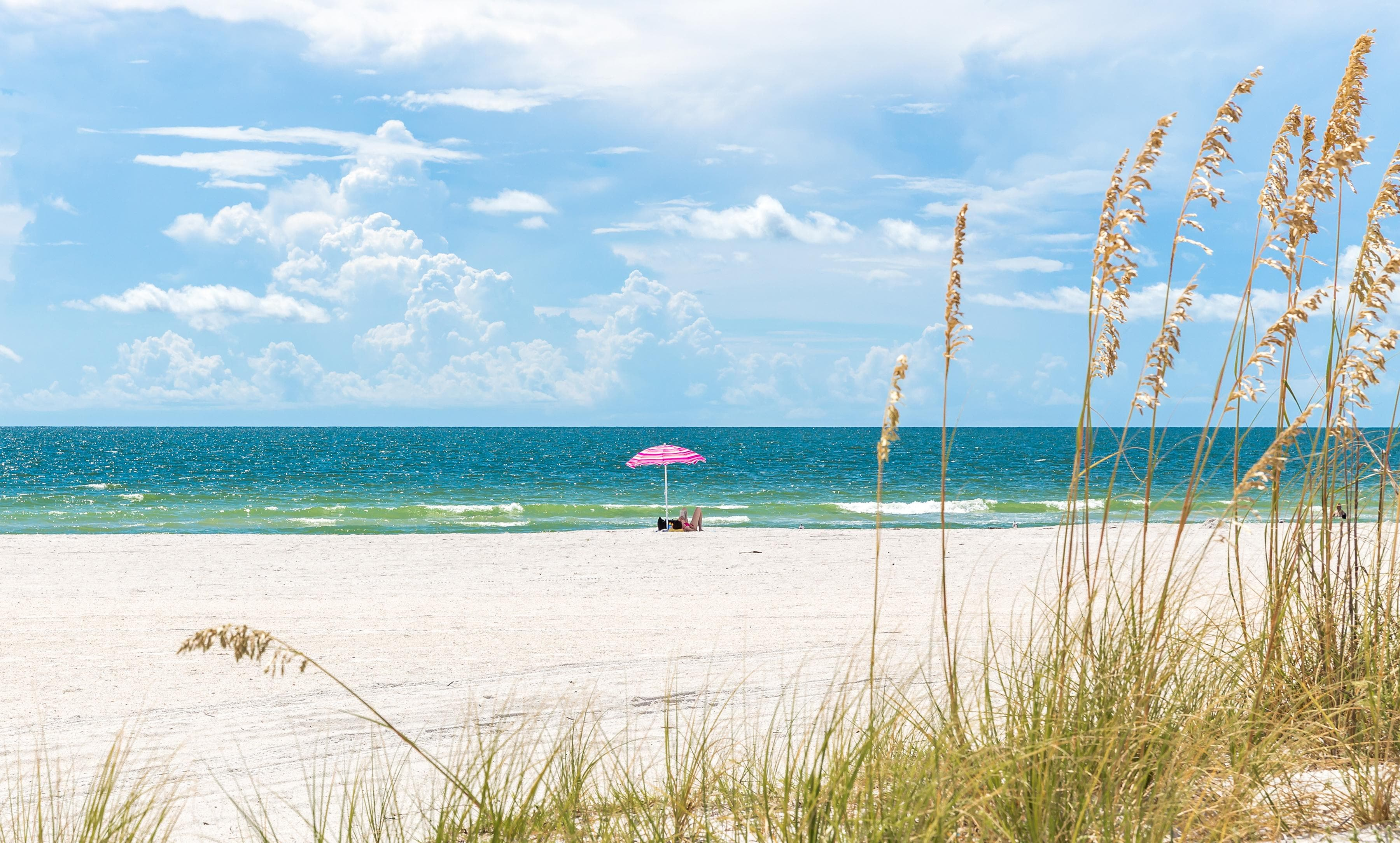 Enjoy a prime location, just 2 miles from St. Pete Beach.