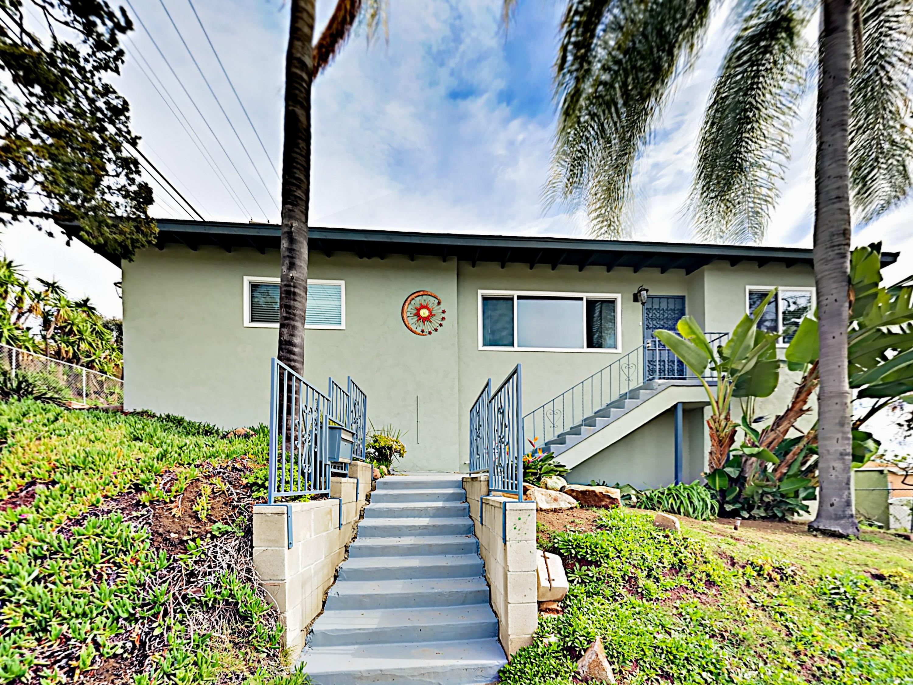 This updated home is located 5.5 miles from picturesque Balboa Park.