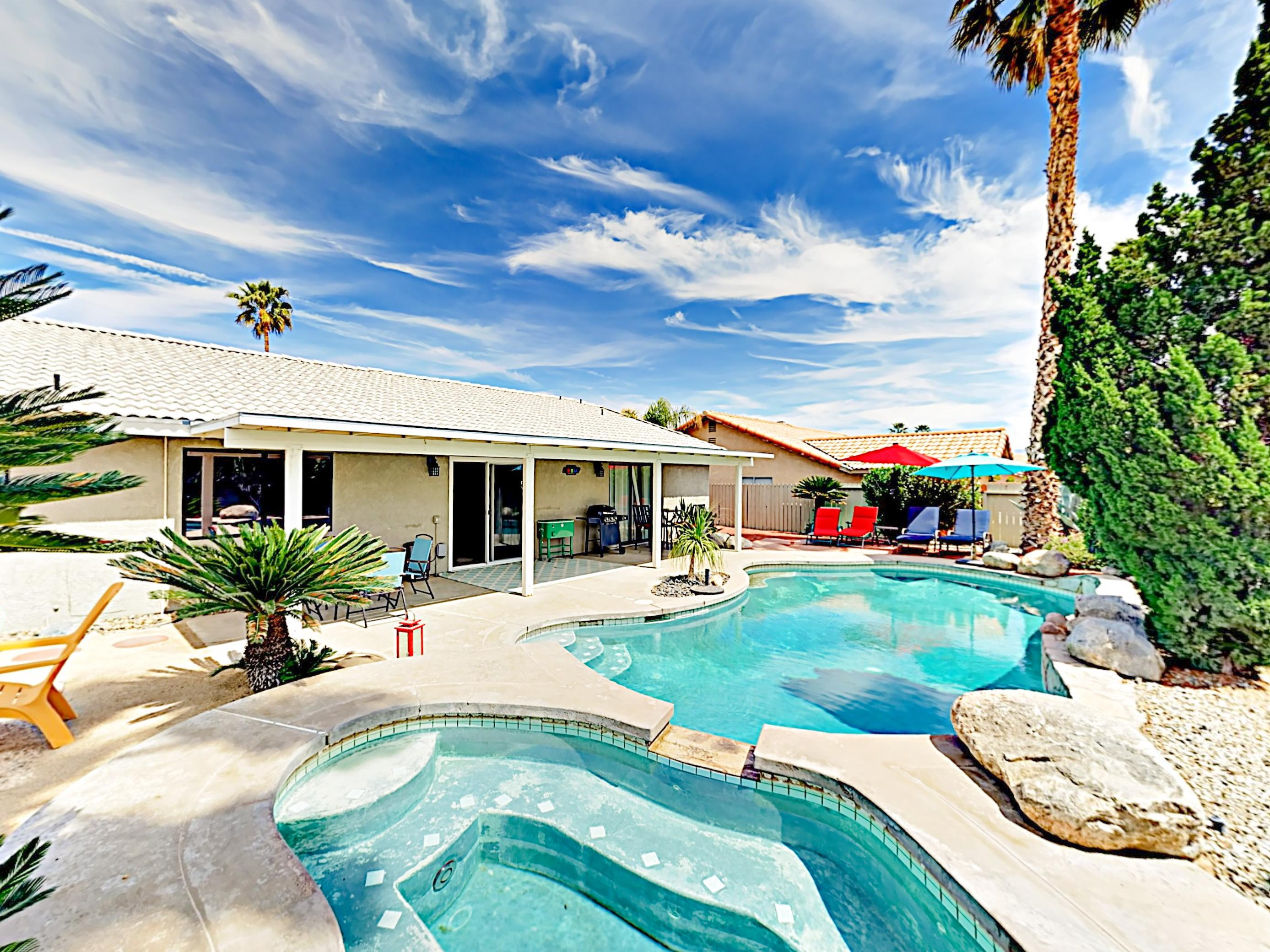 Welcome to Cathedral City! This desert oasis is professionally managed by TurnKey Vacation Rentals.