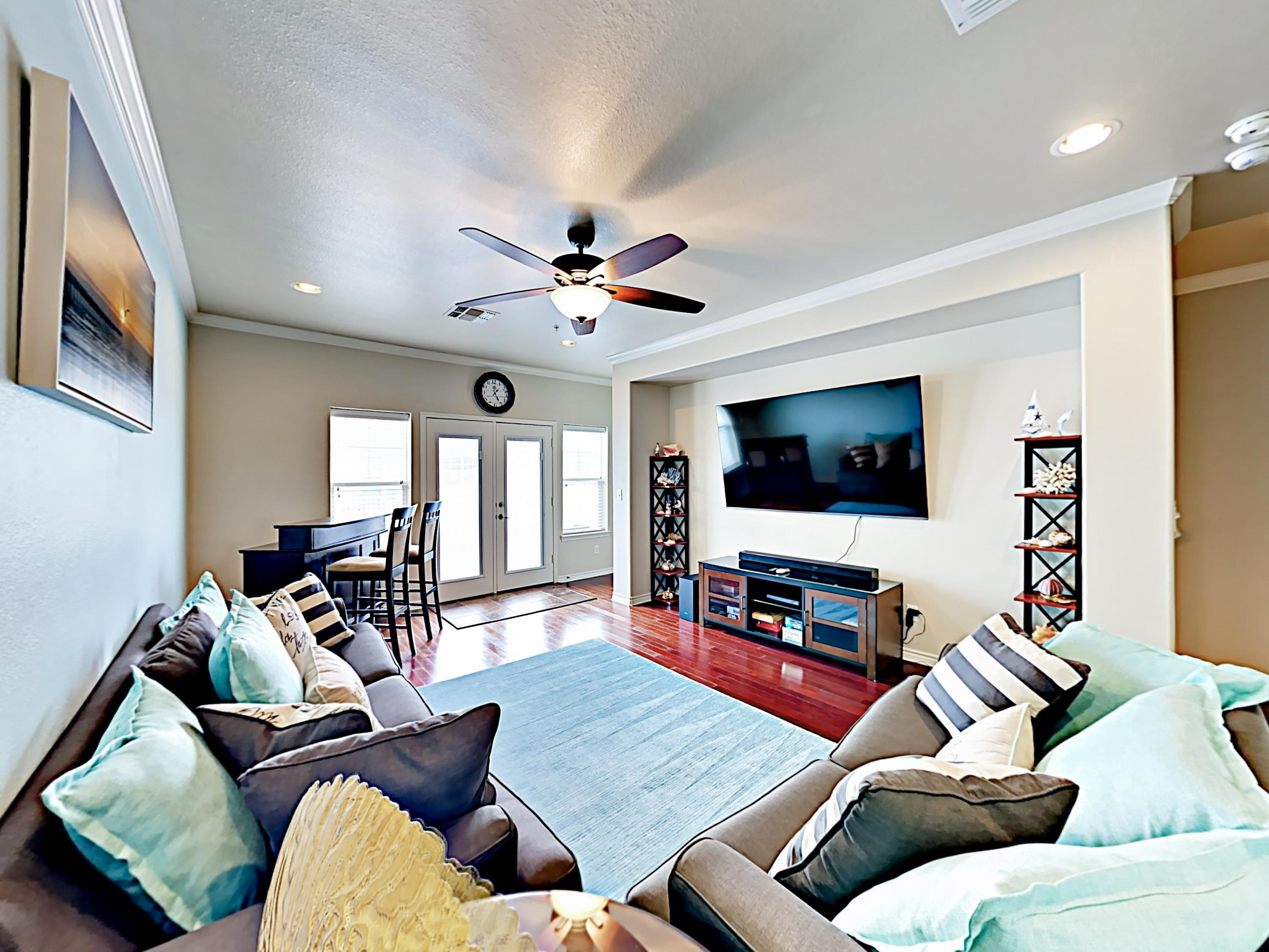 Welcome to Port Aransas! This condo is professionally managed by TurnKey Vacation Rentals.
