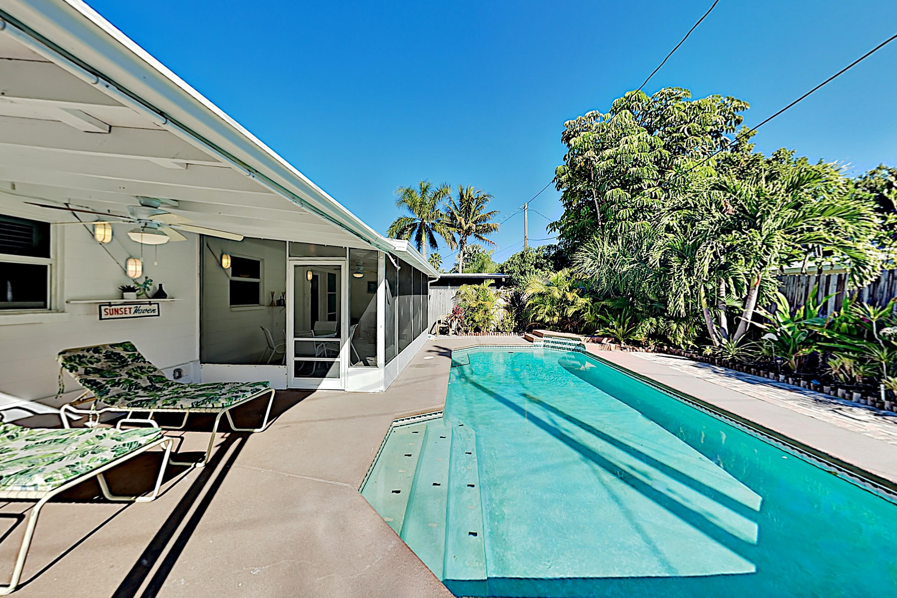 Property Image 2 - Endless Summer with Saltwater Pool; 7-Minute Walk to Beach