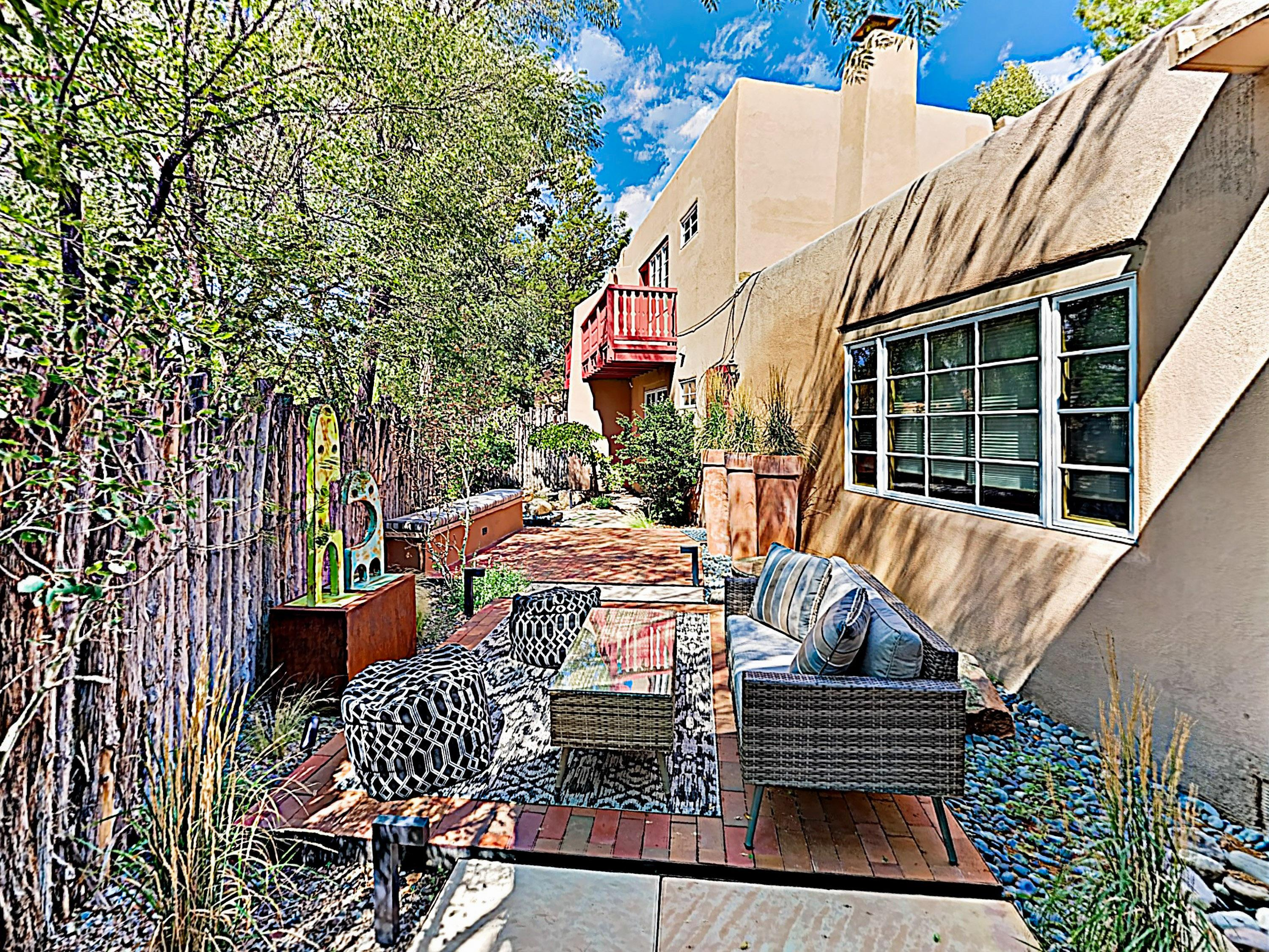 Welcome to Santa Fe! This rental is professionally managed by TurnKey Vacation Rentals. Spend leisurely afternoons in your private courtyard.