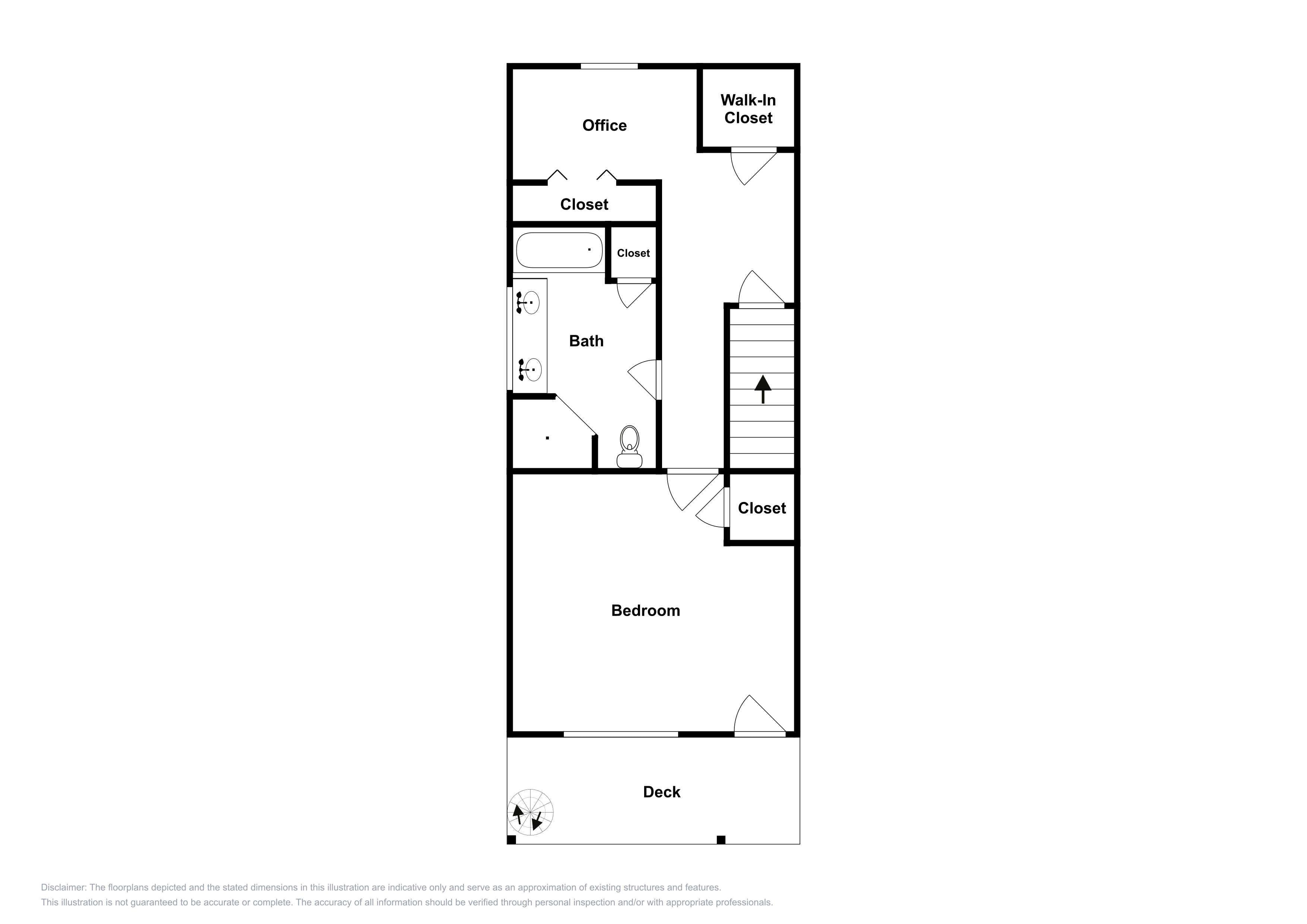 This floor plan is an approximation of the 3rd floor and may not include the most recent information.