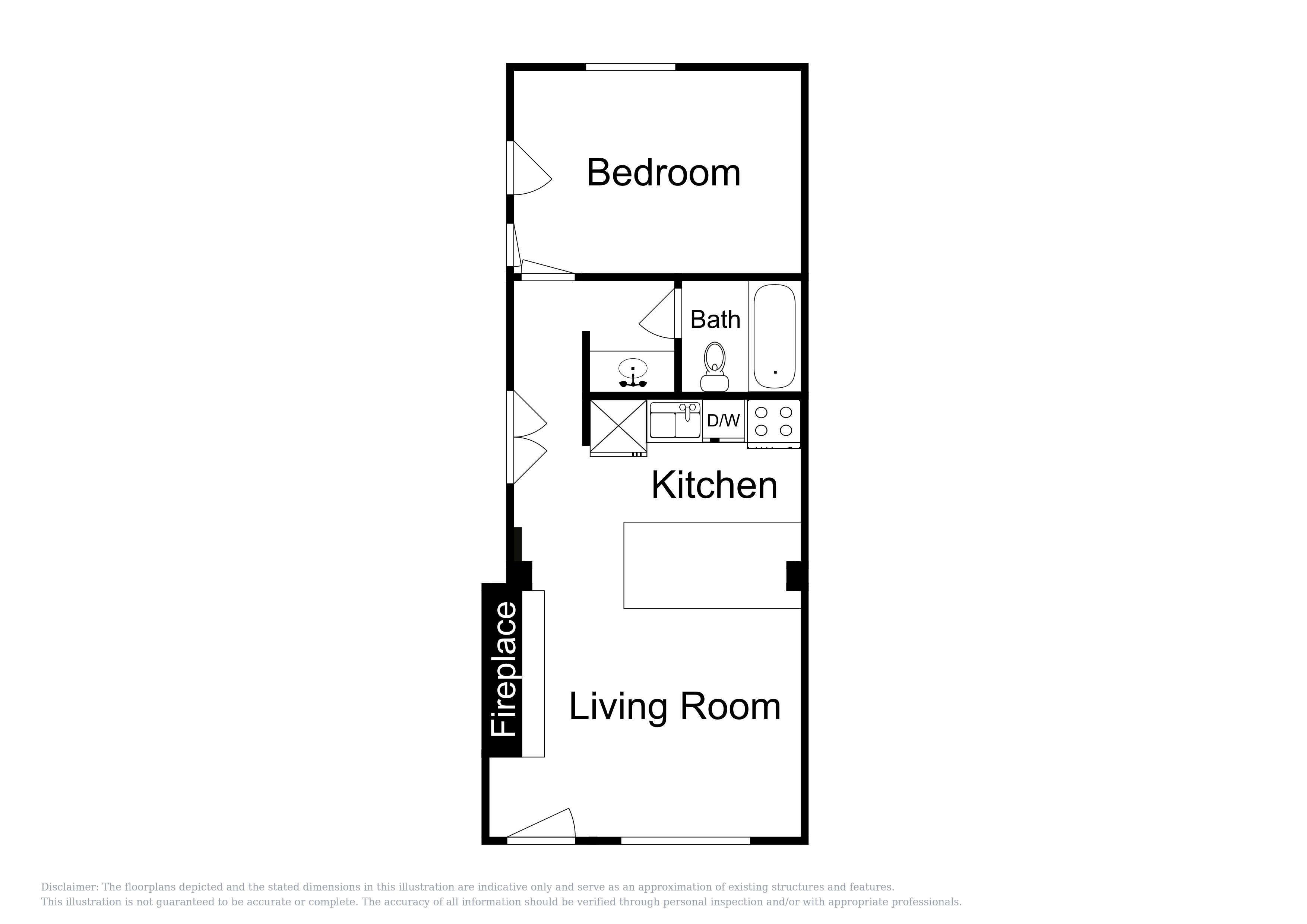 This floor plan of the 2nd unit is an approximation and may not include the most recent information.