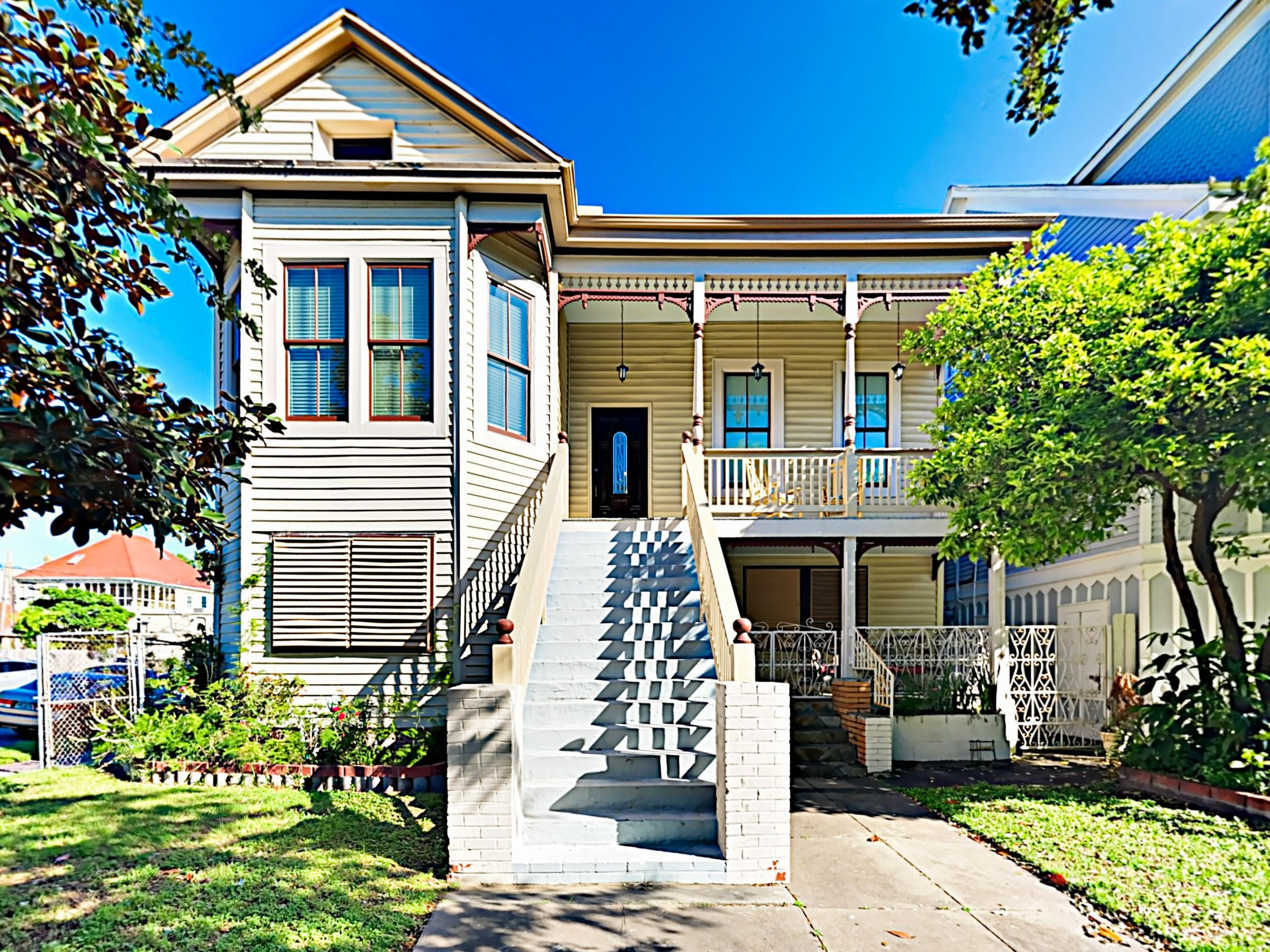 Property Image 1 - Renovated Historic Galveston Victorian Home