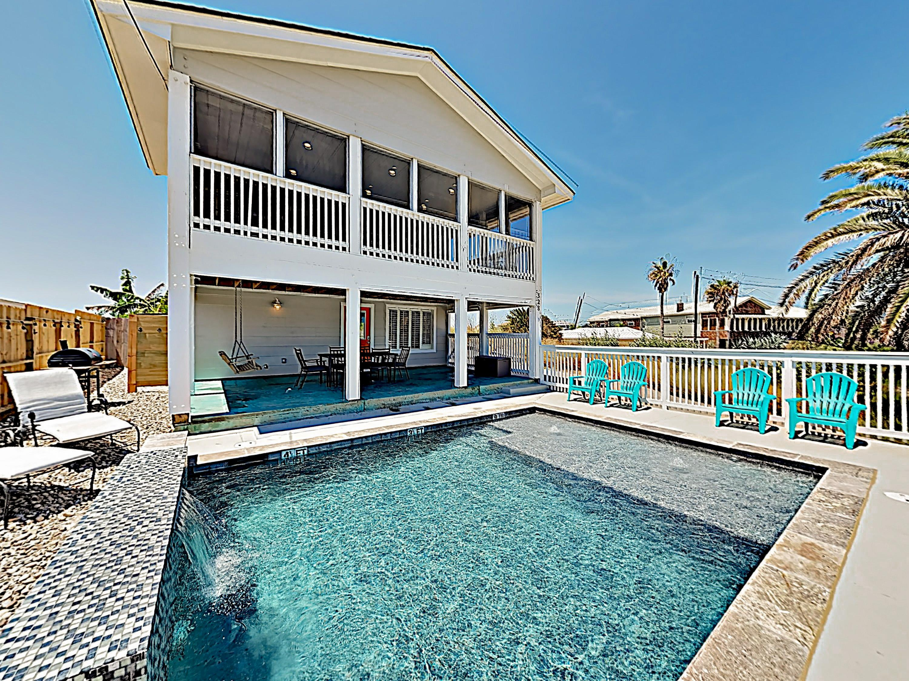 "Welcome to Port Aransas! ""Sebo Seaside"" is professionally managed by TurnKey Vacation Rentals."