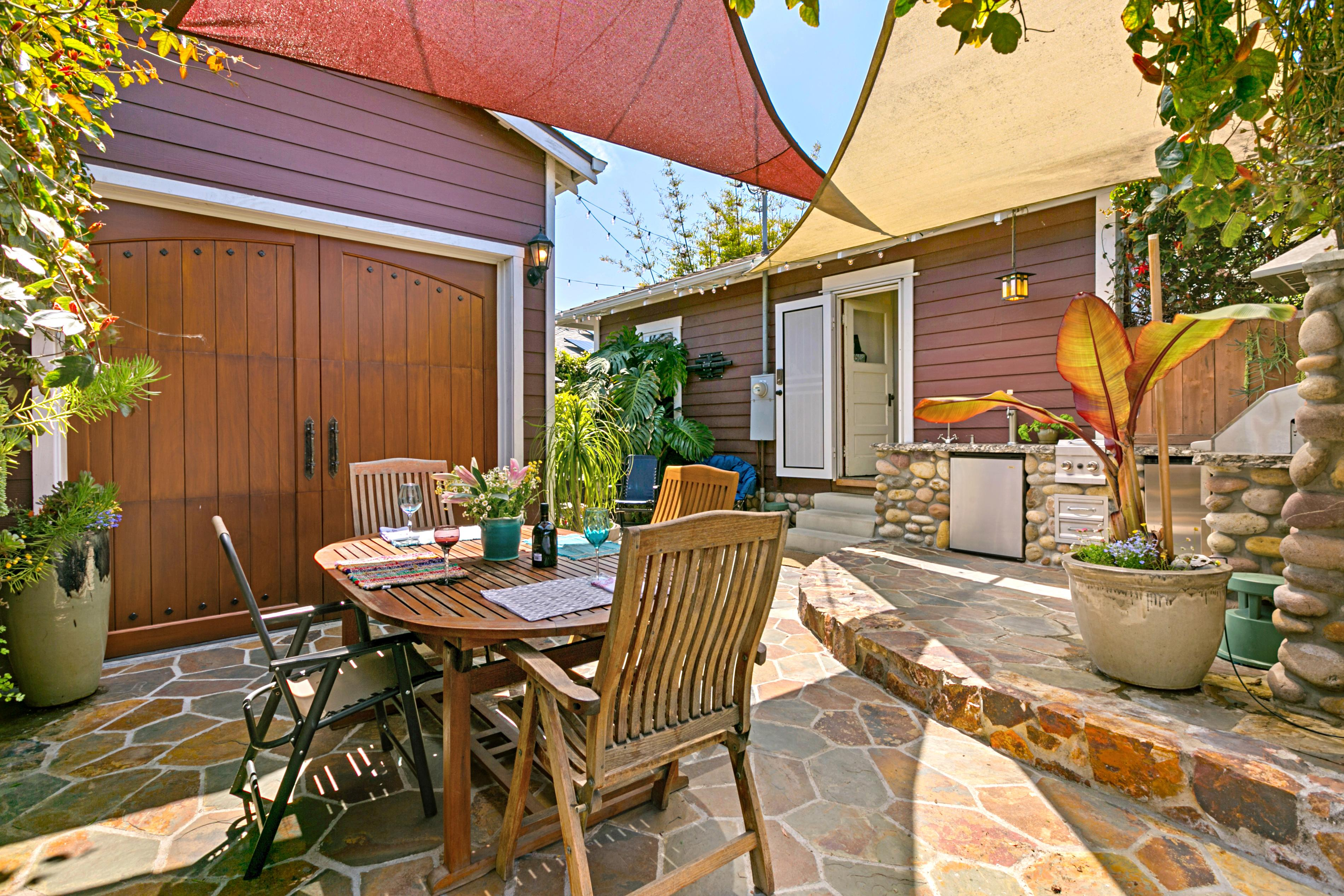 Property Image 1 - Eclectic Craftsman Bungalow with Outdoor Kitchen