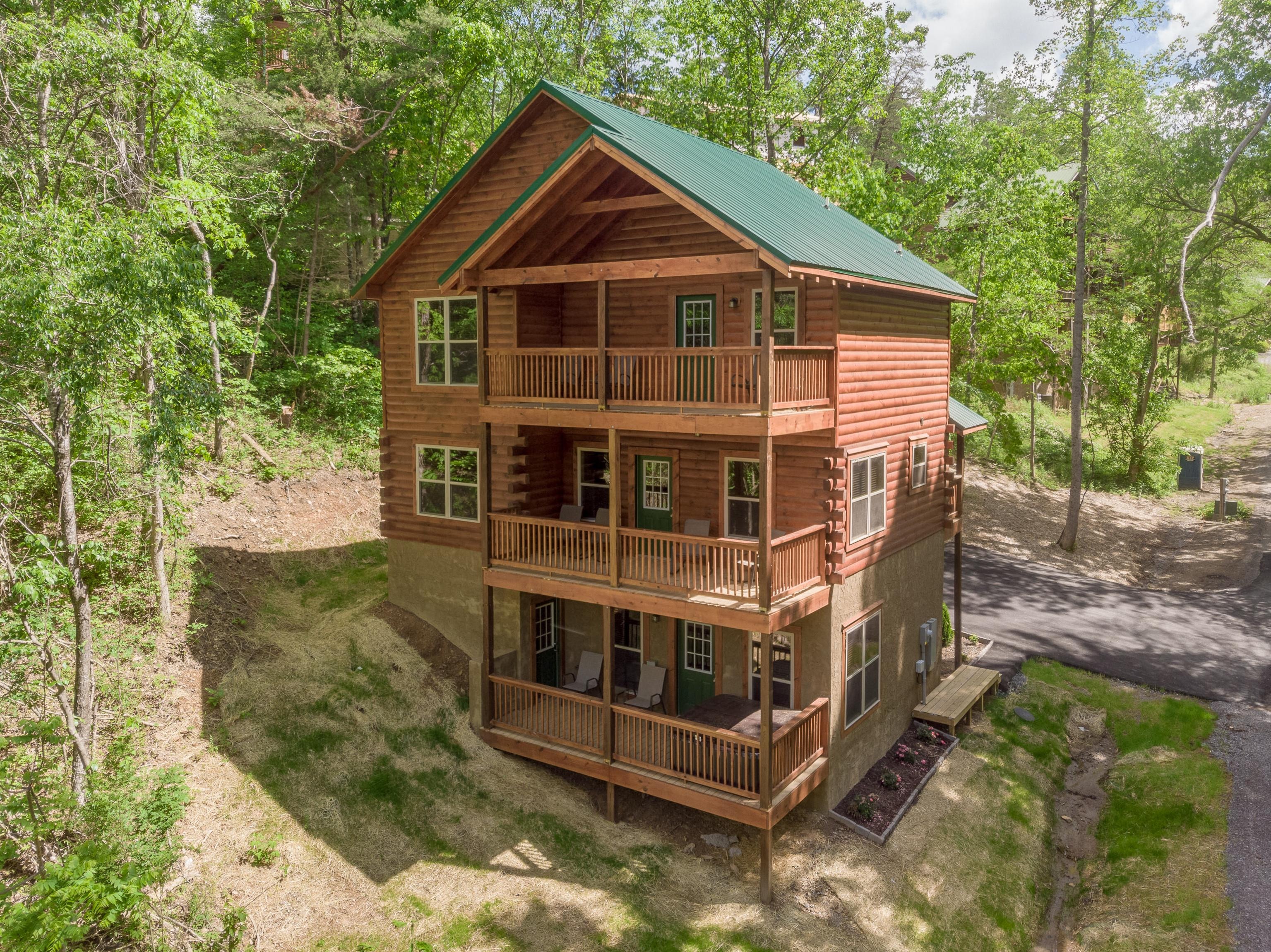 Property Image 1 - Wooded Retreat with Game Room and Three Balconies