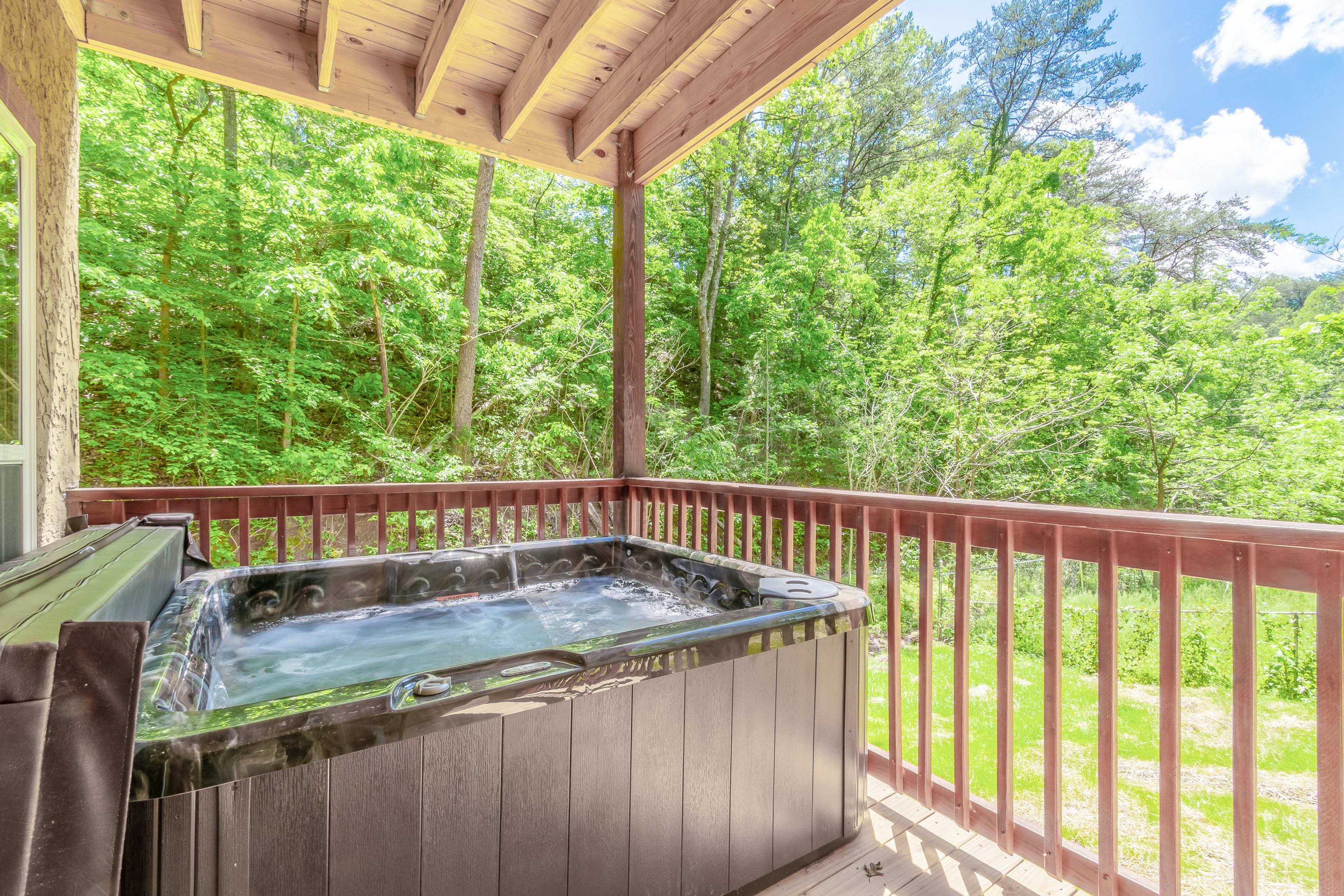 Property Image 2 - Wooded Retreat with Game Room and Three Balconies