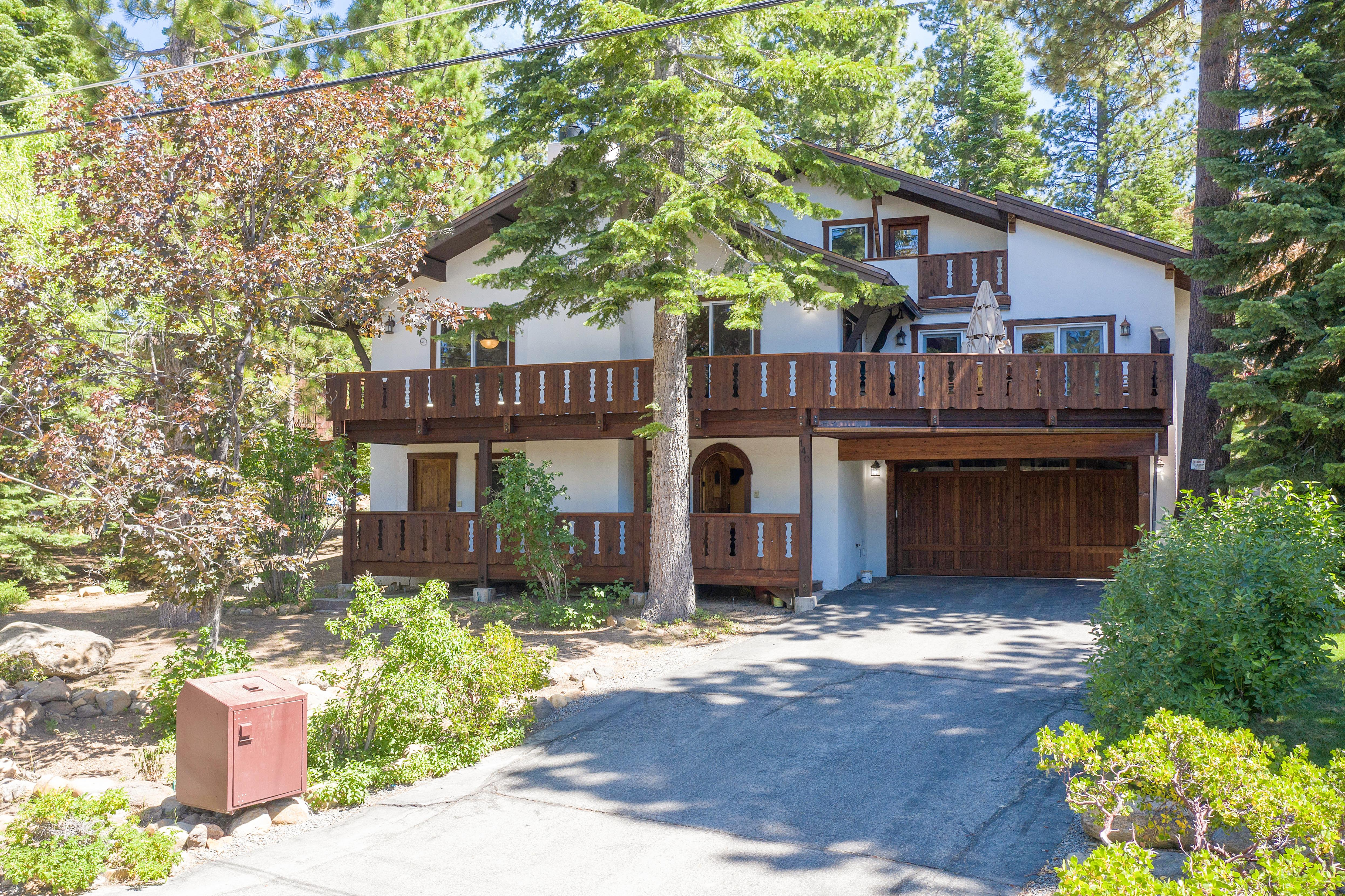 Tahoe City is about 3 miles from the rental and provides cafes, shops, and local attractions.