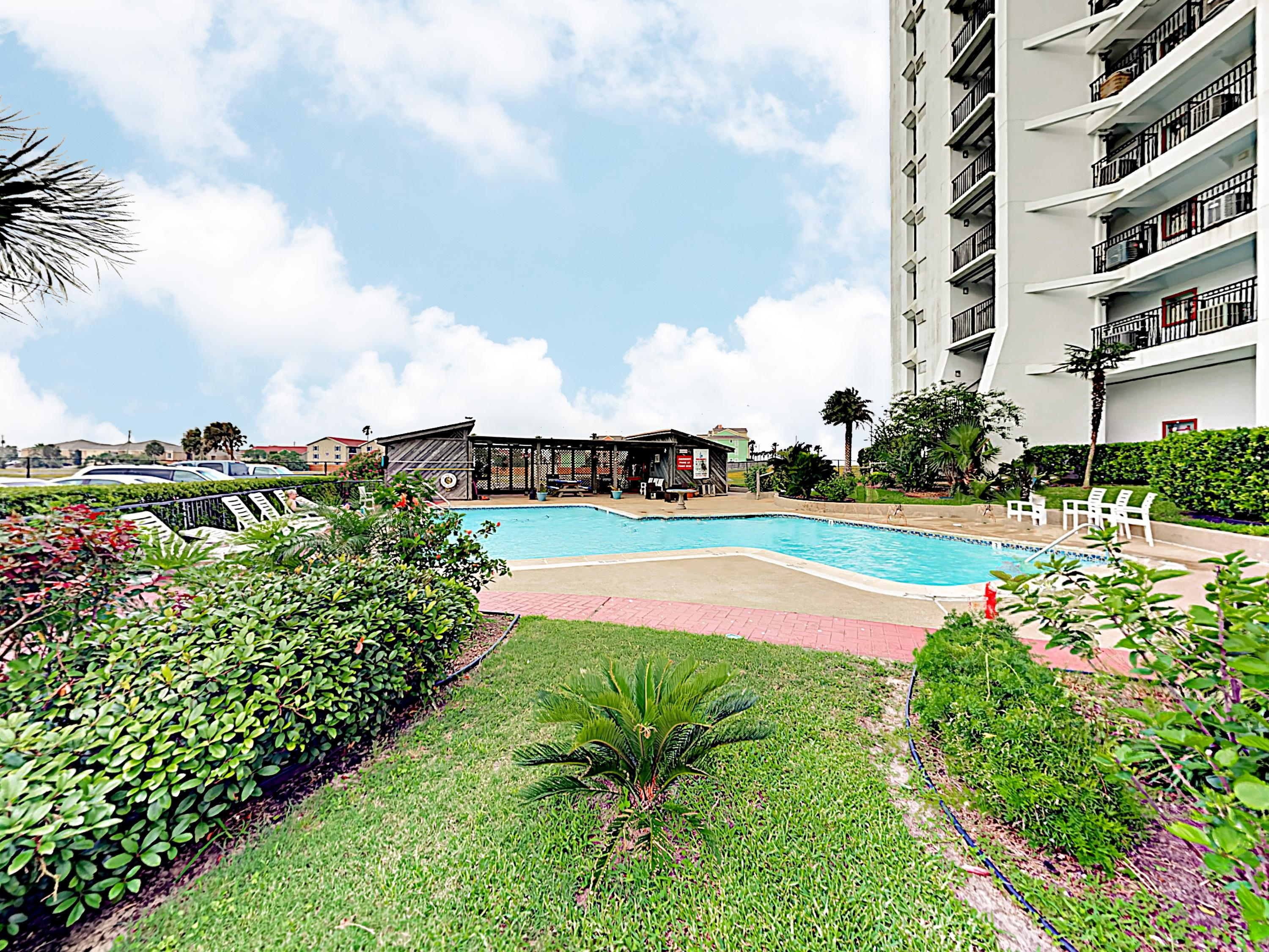 Enjoy your stay at the beautiful By The Sea condo complex.
