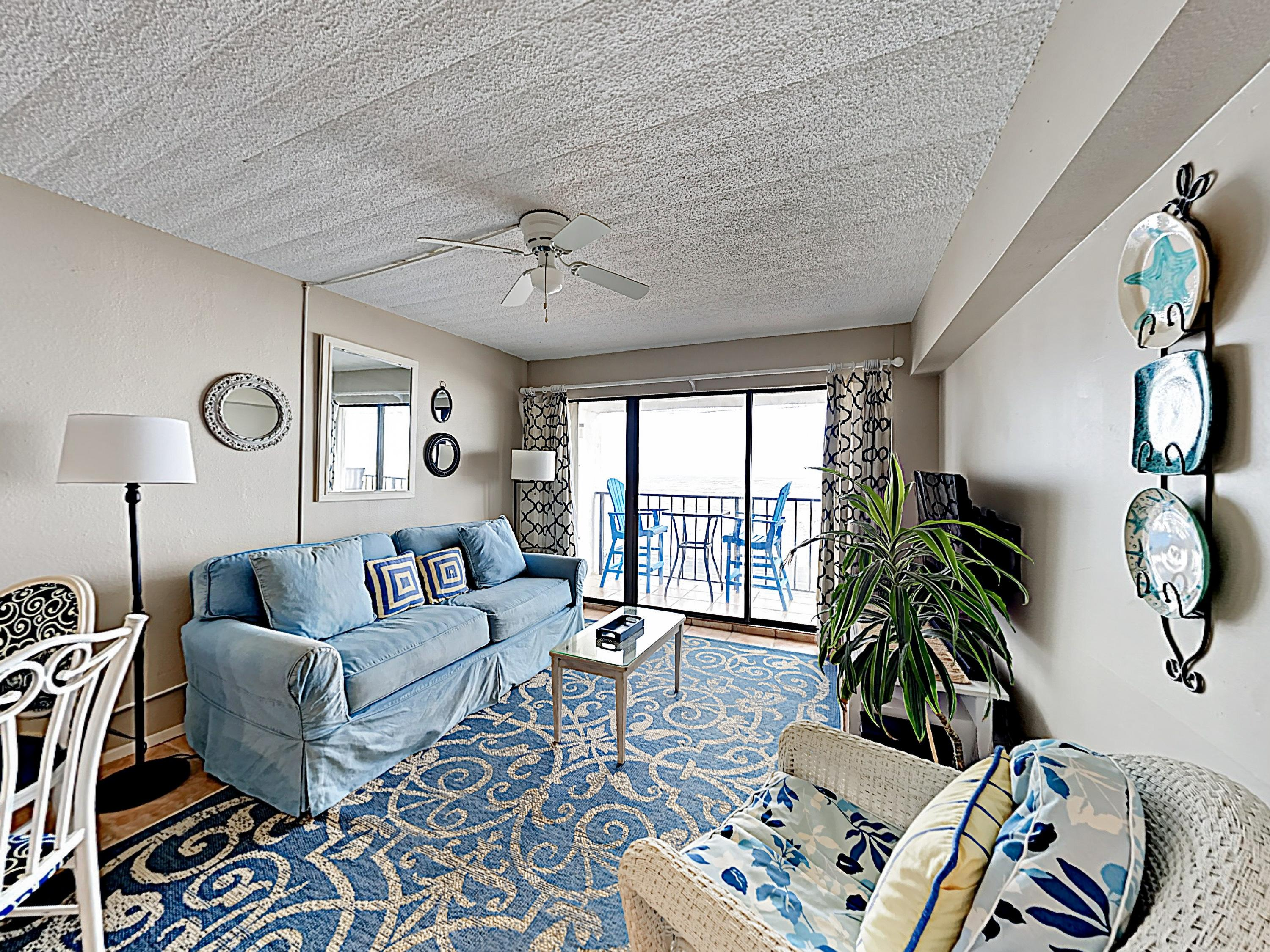 Welcome to Galveston. This condo is professionally managed by TurnKey Vacation Rentals.