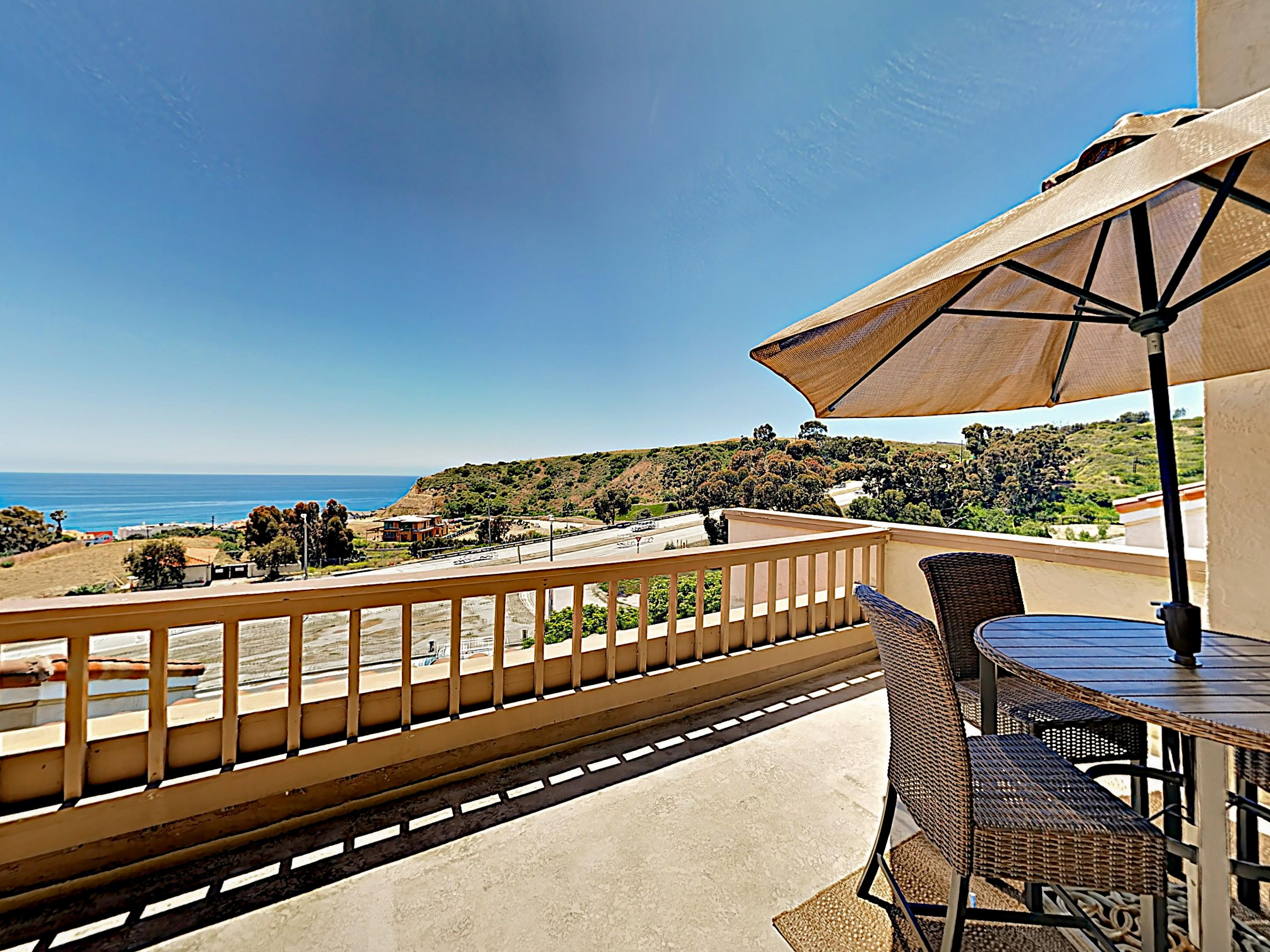 Coastal Gem near Malibu Beach with Ocean-View Balcony