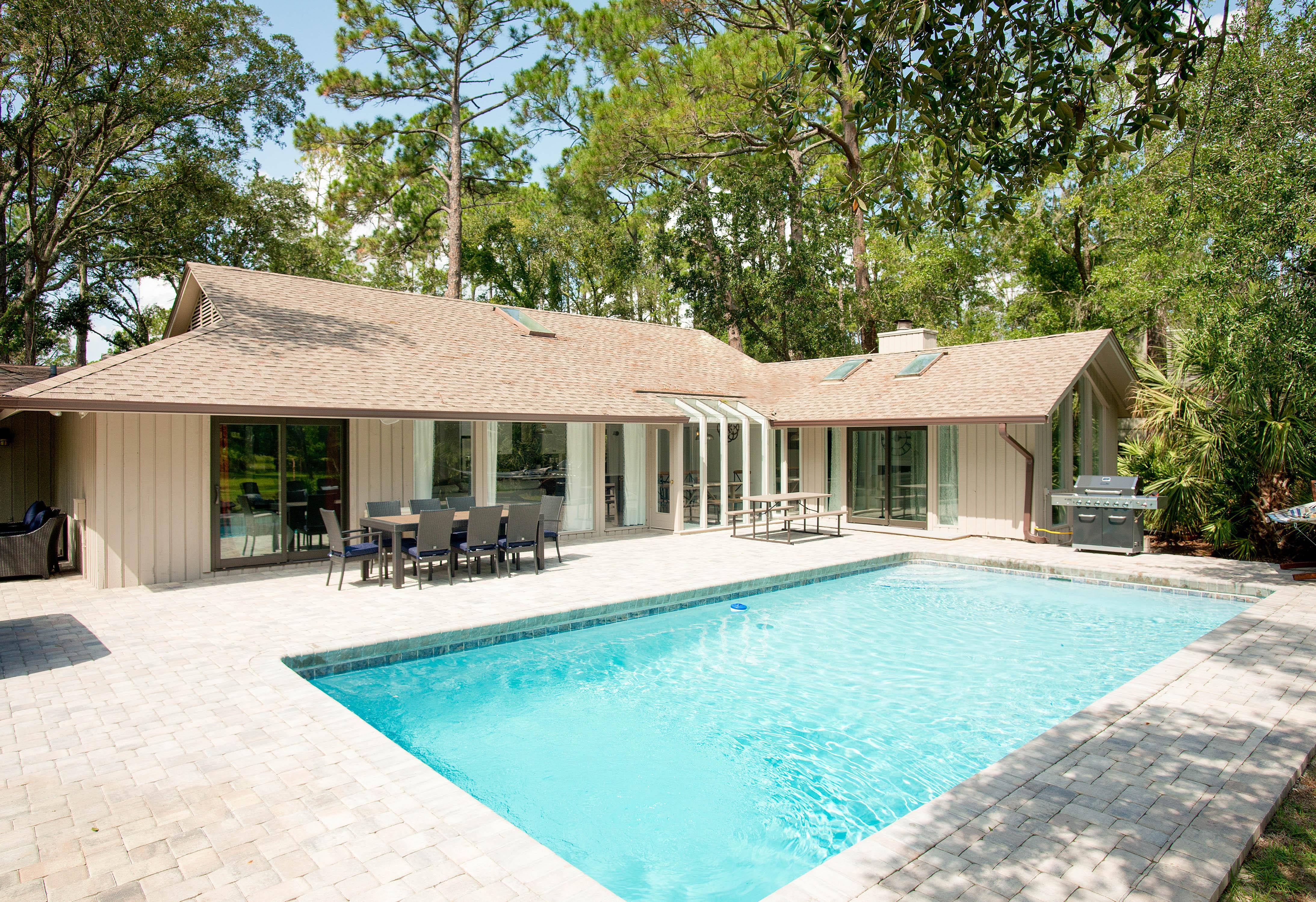 Welcome to Hilton Head Island! This Sea Pines Resort home is professionally managed by TurnKey Vacation Rentals.