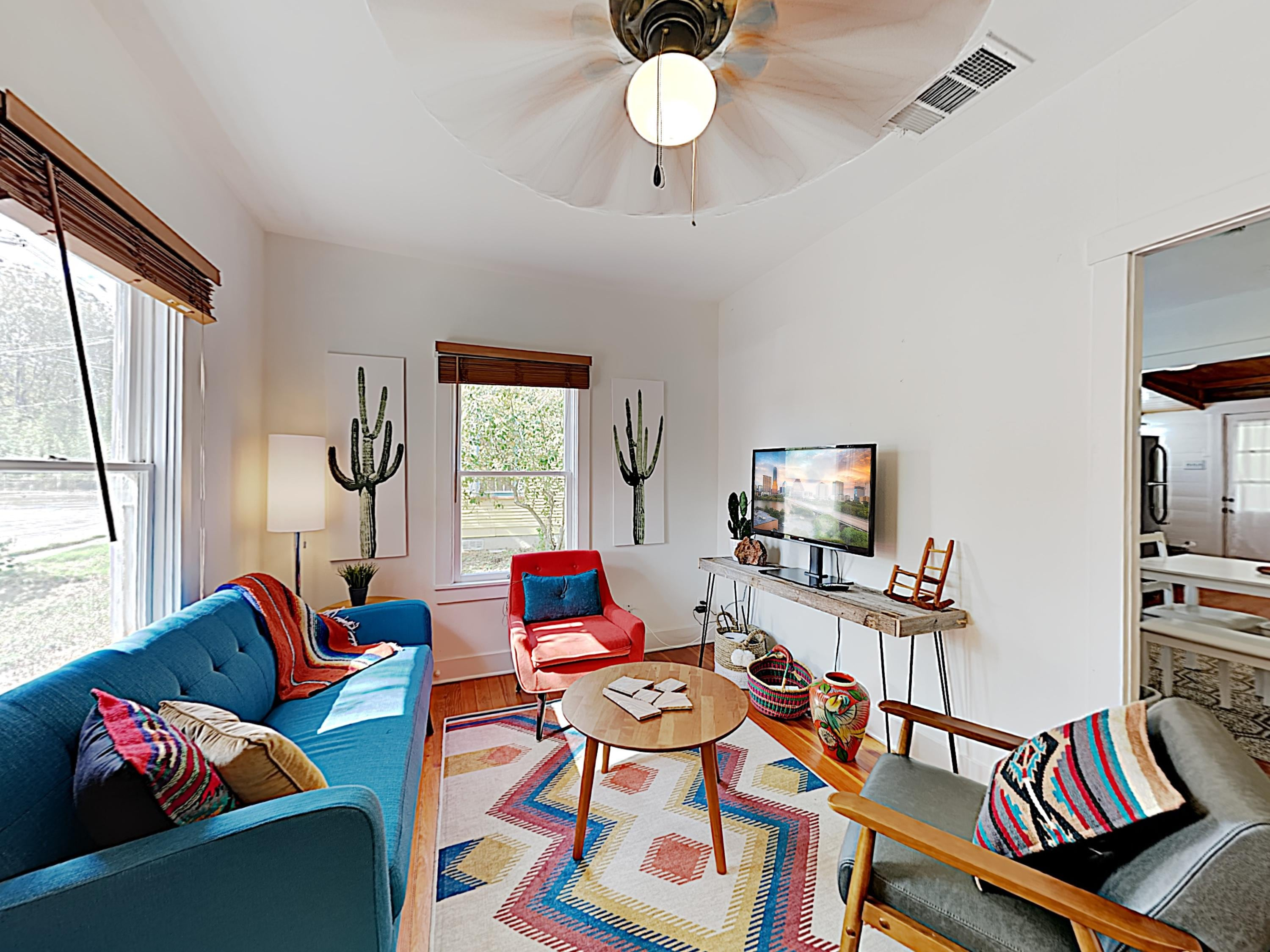 Welcome to Austin! This cozy Eastside retreat is professionally managed by TurnKey Vacation Rentals.