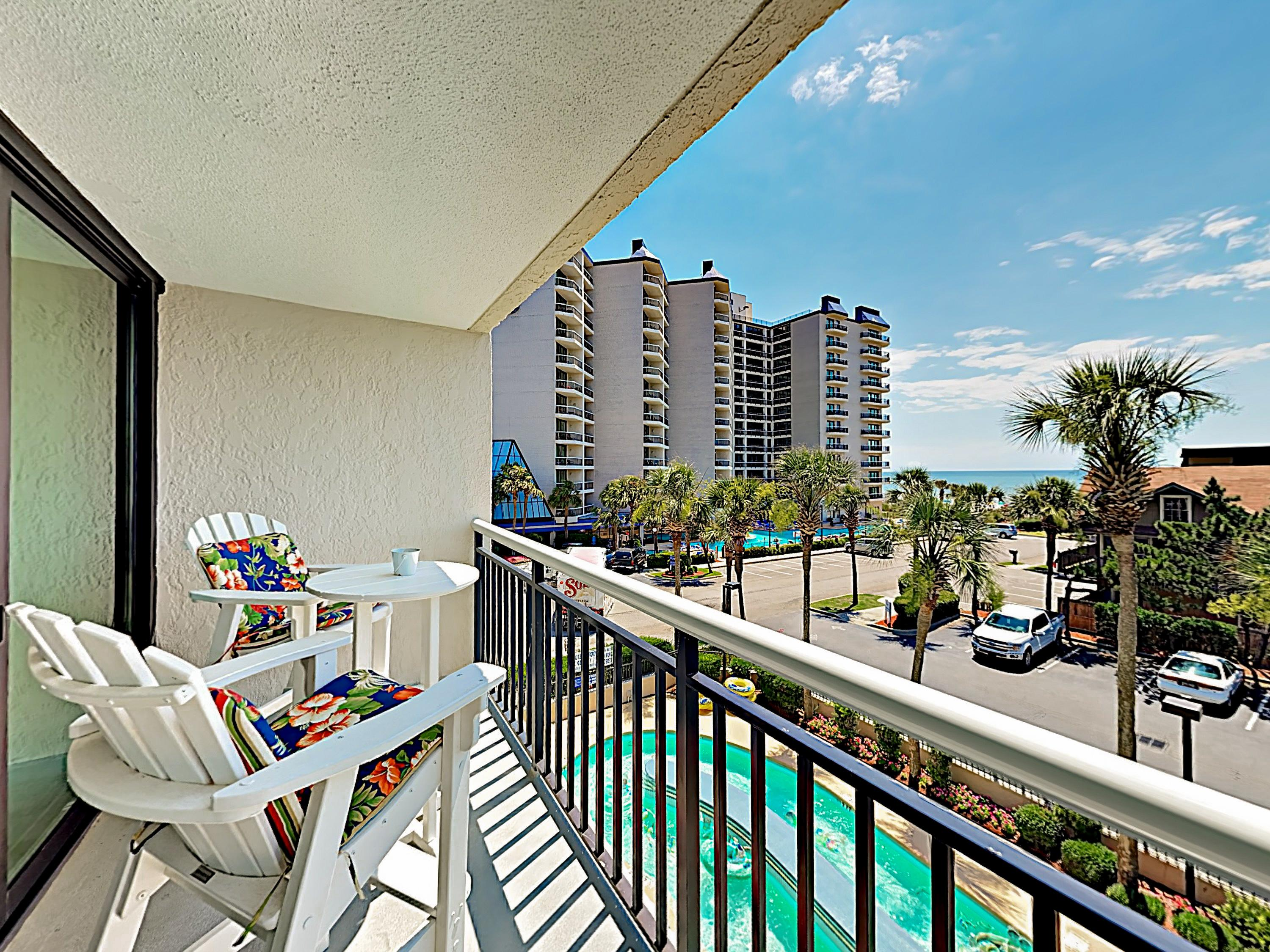 Welcome to Myrtle Beach! This gorgeously remodeled condo is professionally managed by TurnKey Vacation Rentals.