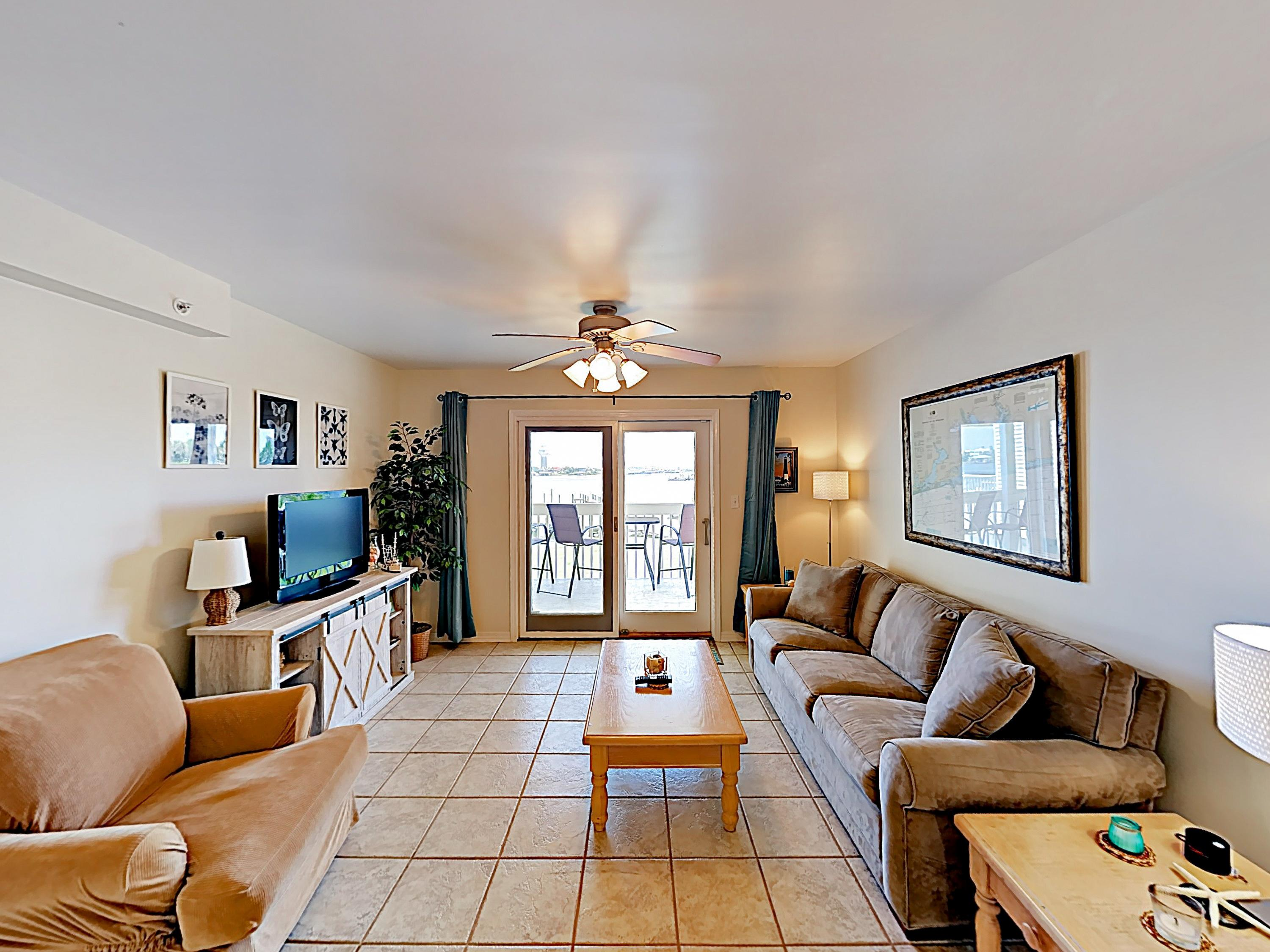 Welcome to the Docks on Old River! This condo is professionally managed by TurnKey Vacation Rentals.