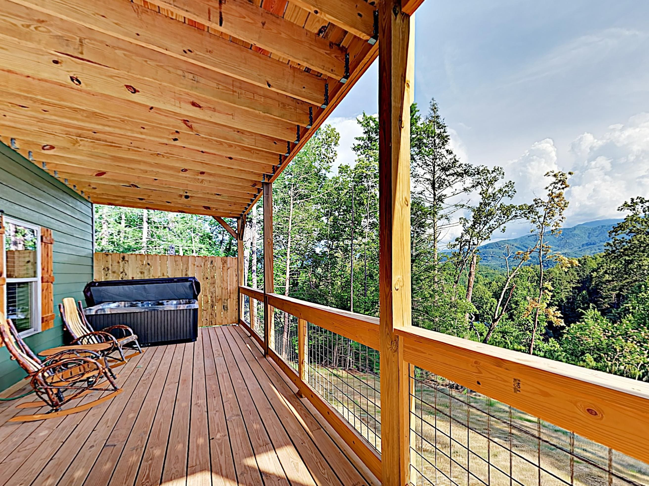Property Image 1 - Gorgeous Mountain-View Cabin with Game Room and Hot Tub