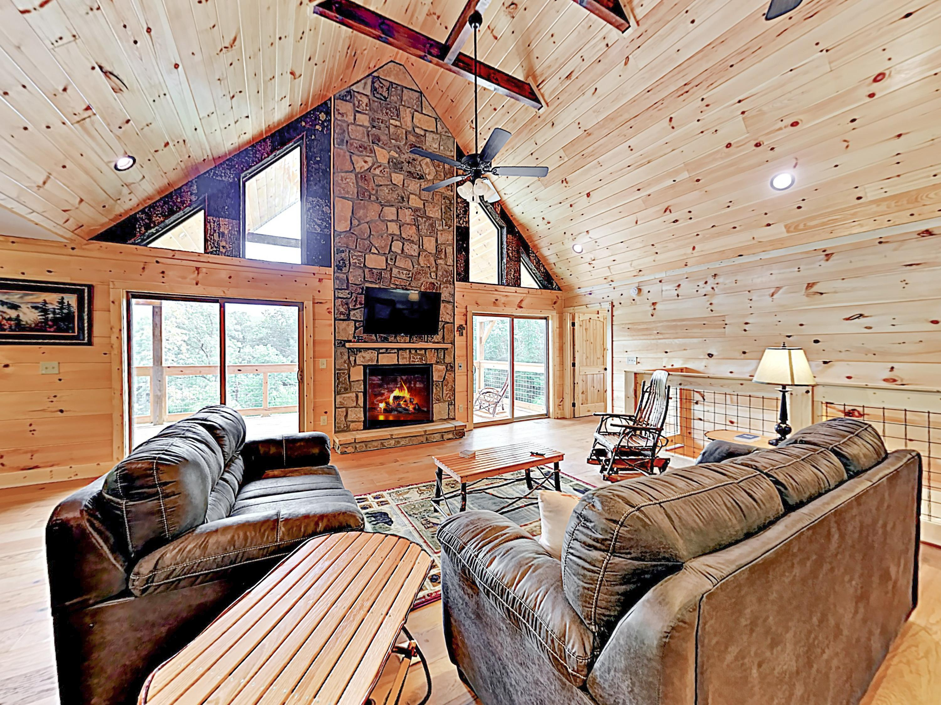 Property Image 2 - Gorgeous Mountain-View Cabin with Game Room and Hot Tub