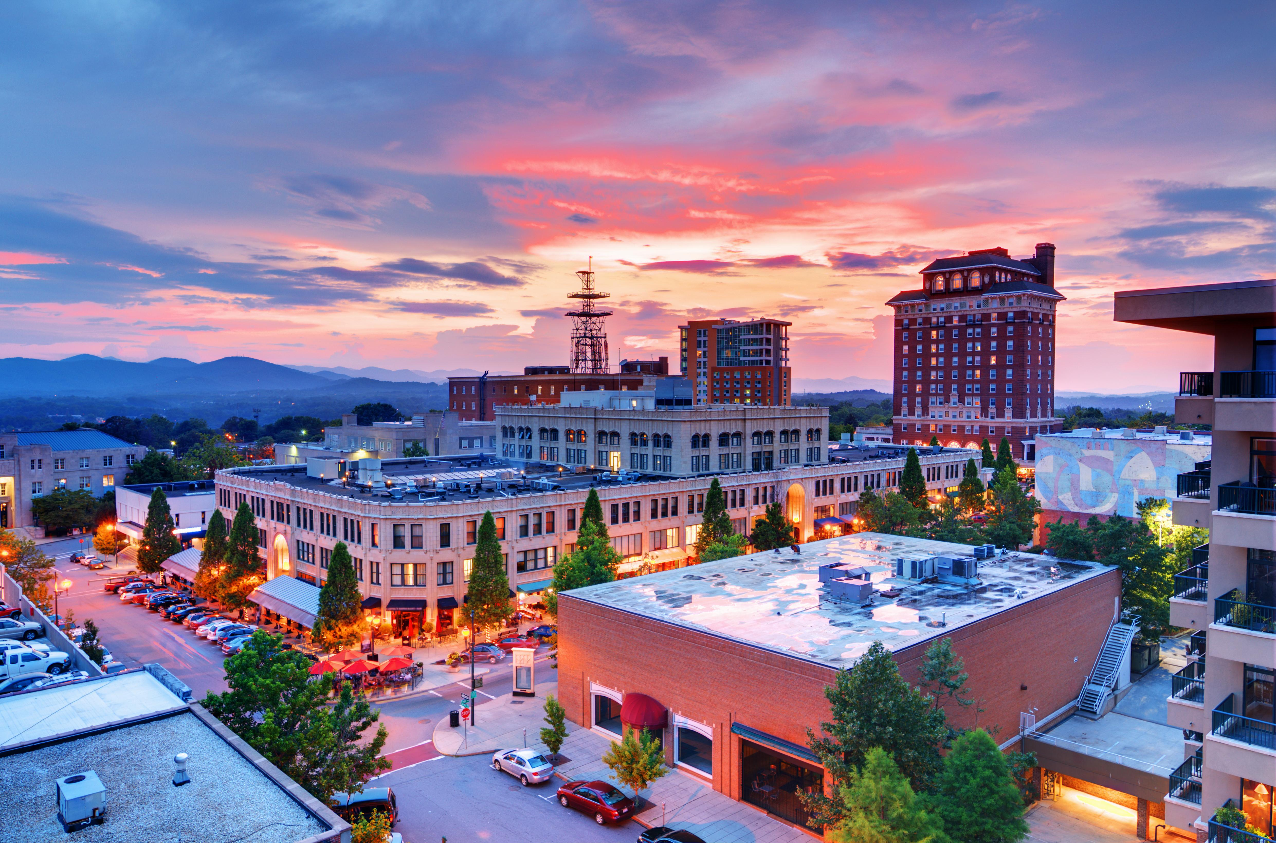 You're just 17 miles from dining and nightlife in downtown Asheville!