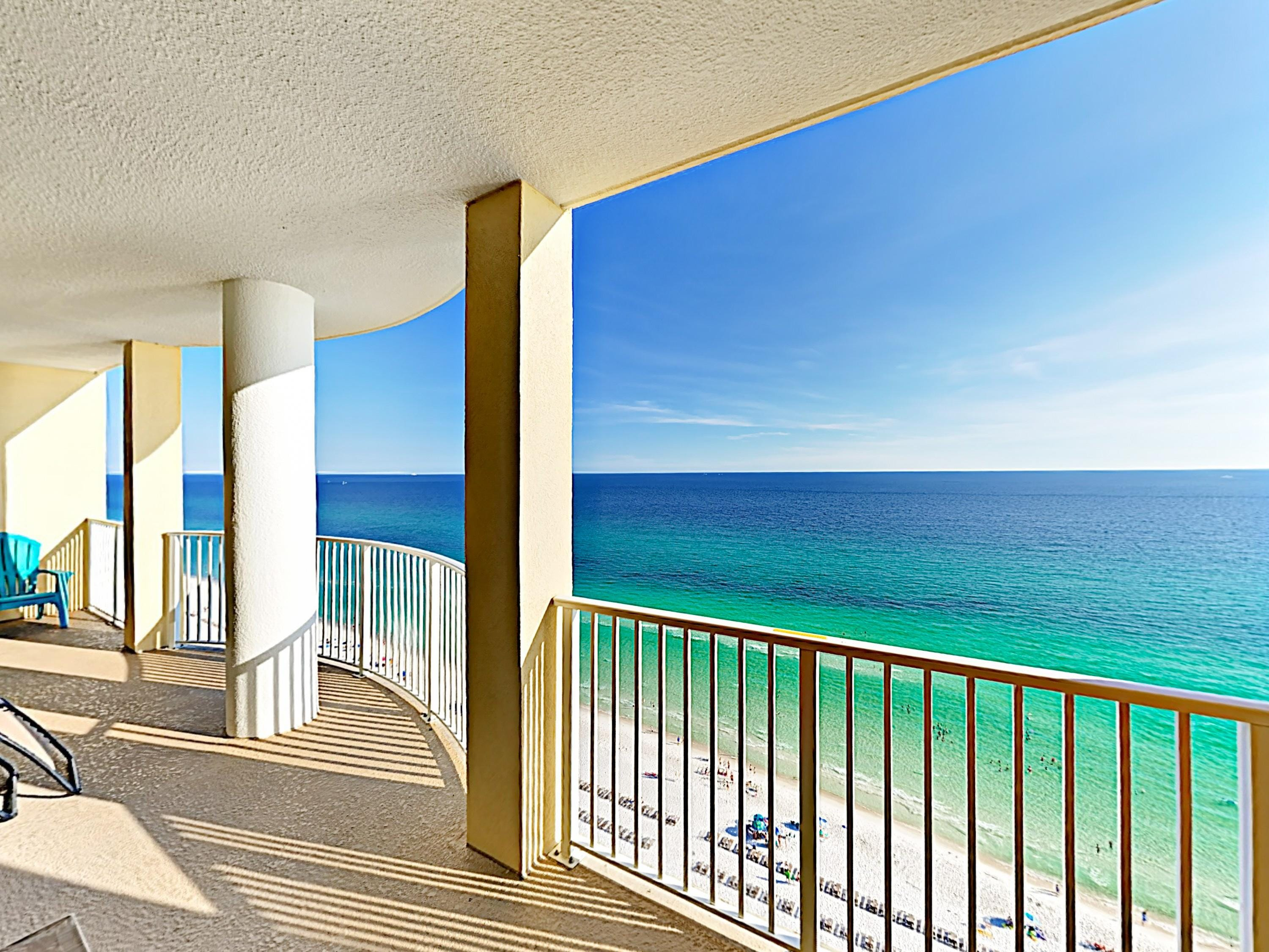 Classic Beachfront Condo with Private Gulf-View Balcony