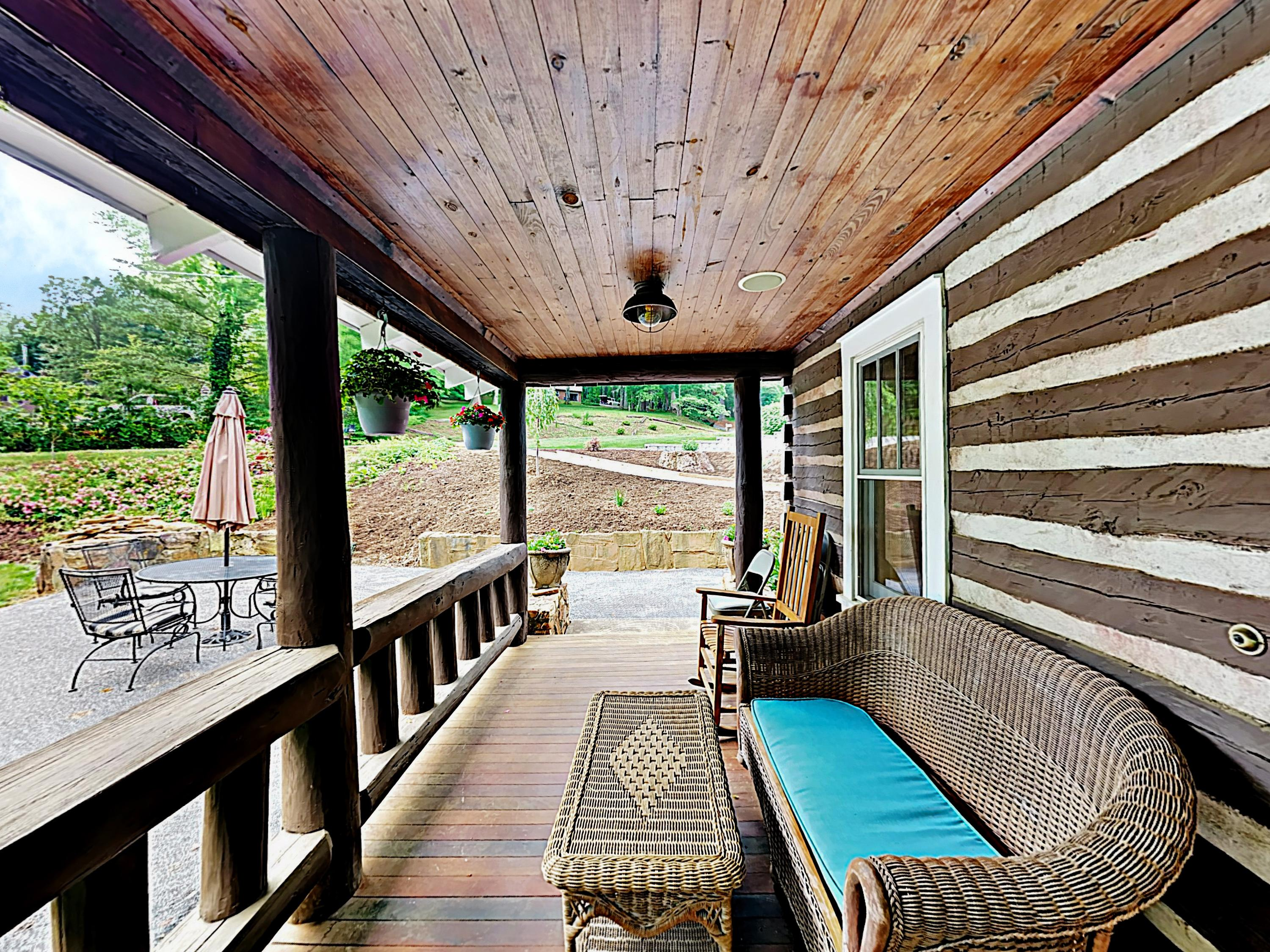 Relax on several well-appointed outdoor spaces.