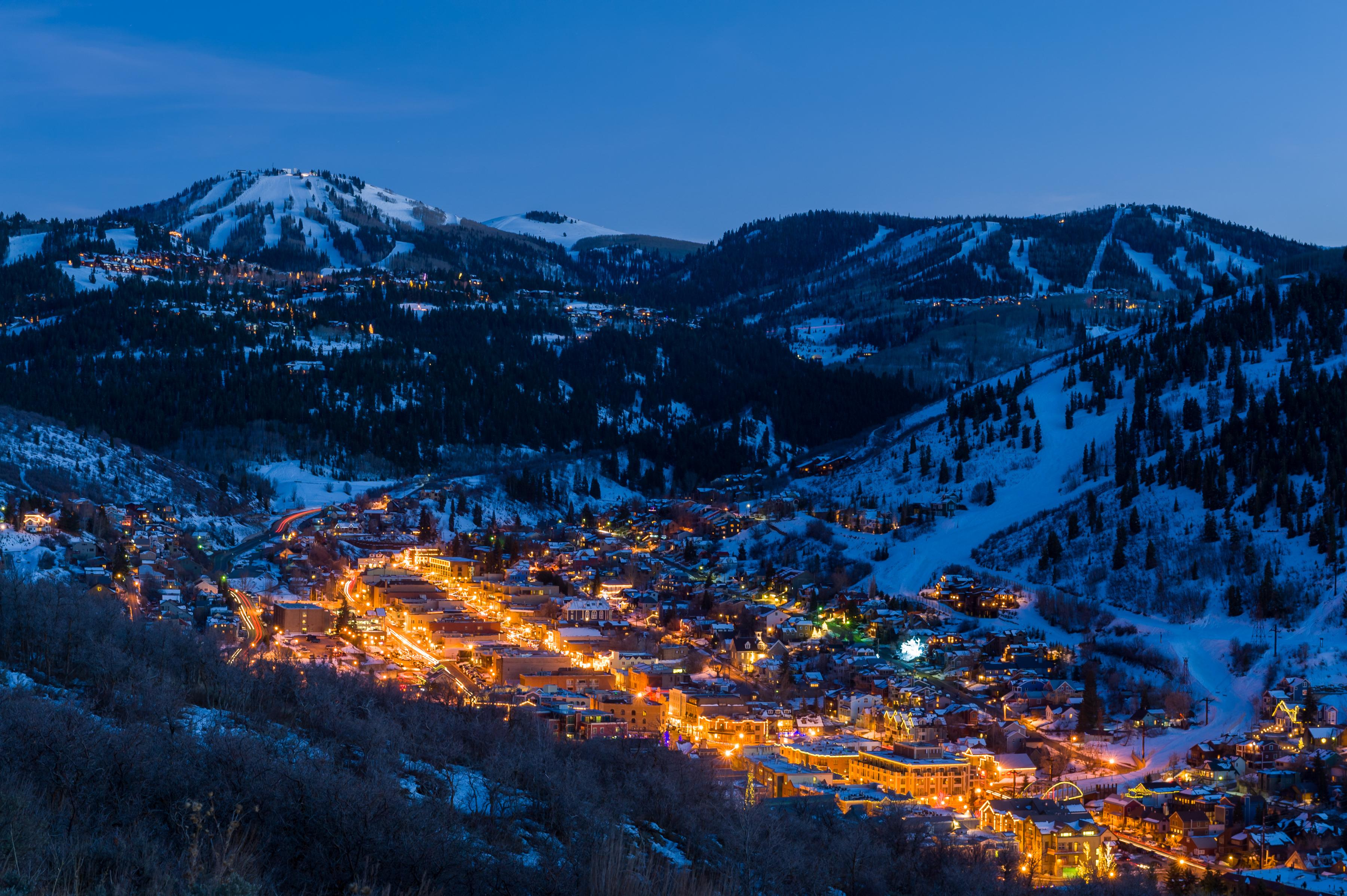 Explore a variety of restaurants and shops in downtown Park City.
